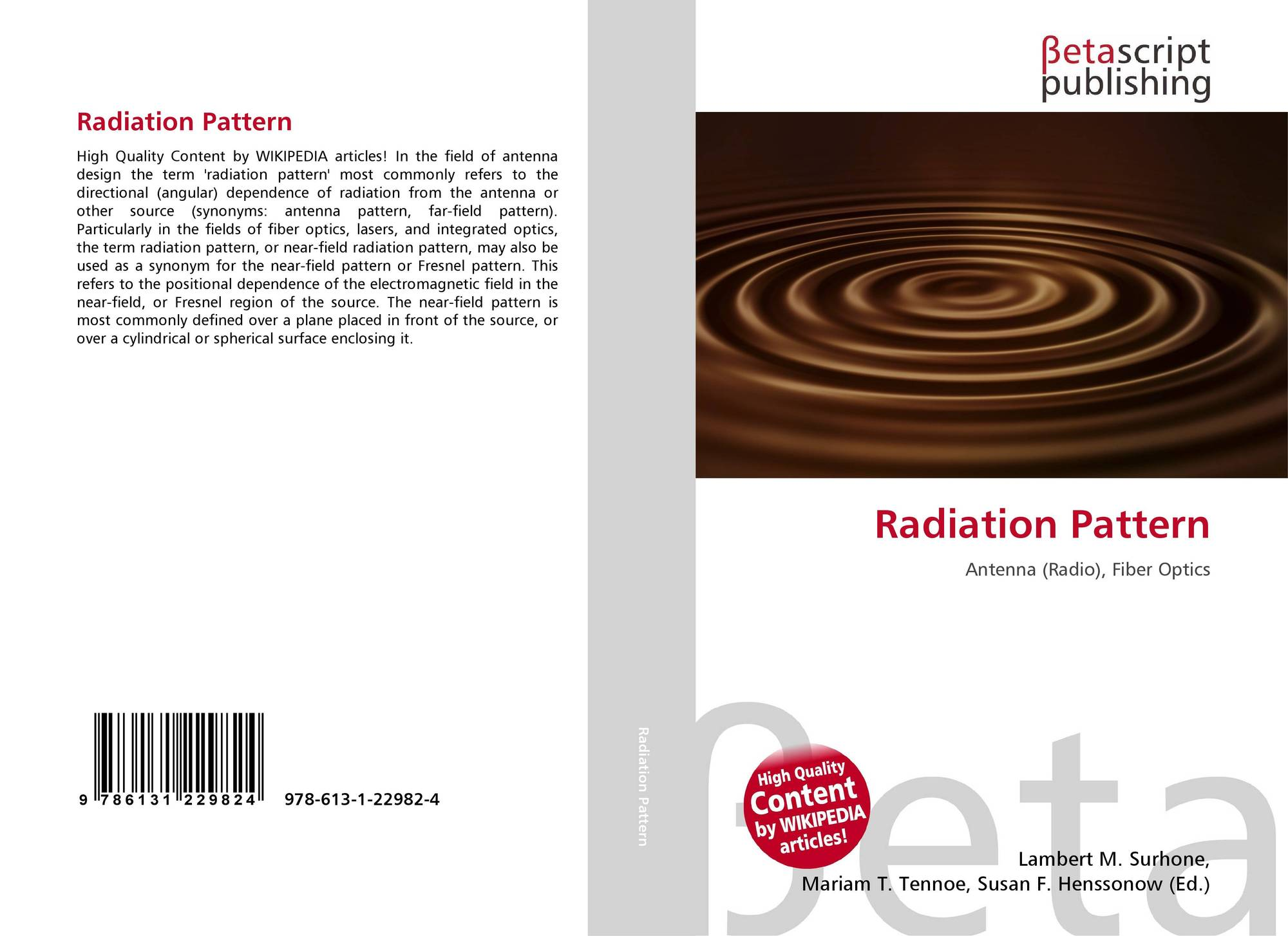 Search results for radiation pattern bookcover of radiation pattern ccuart Gallery