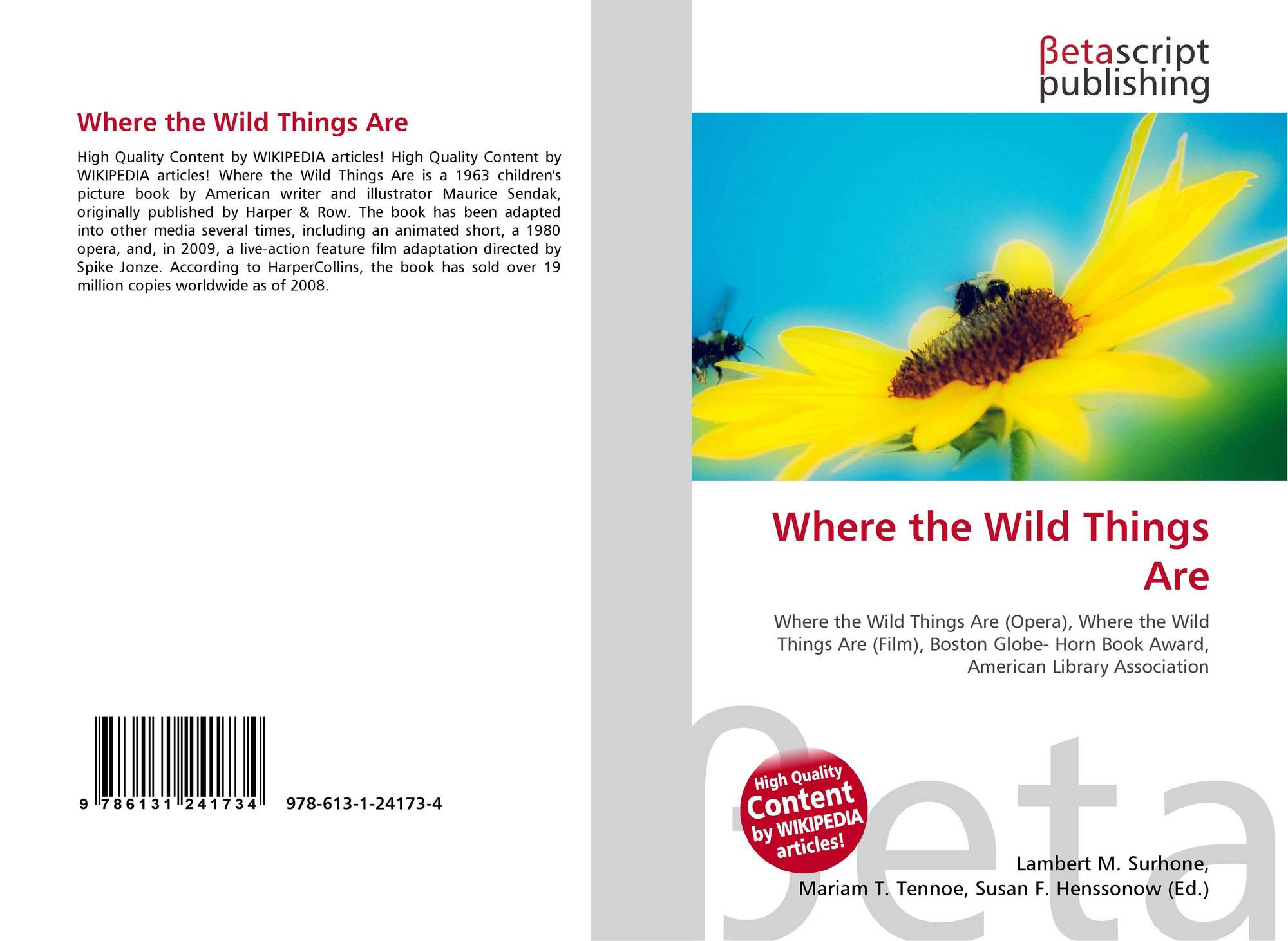 analysis of where the wild things