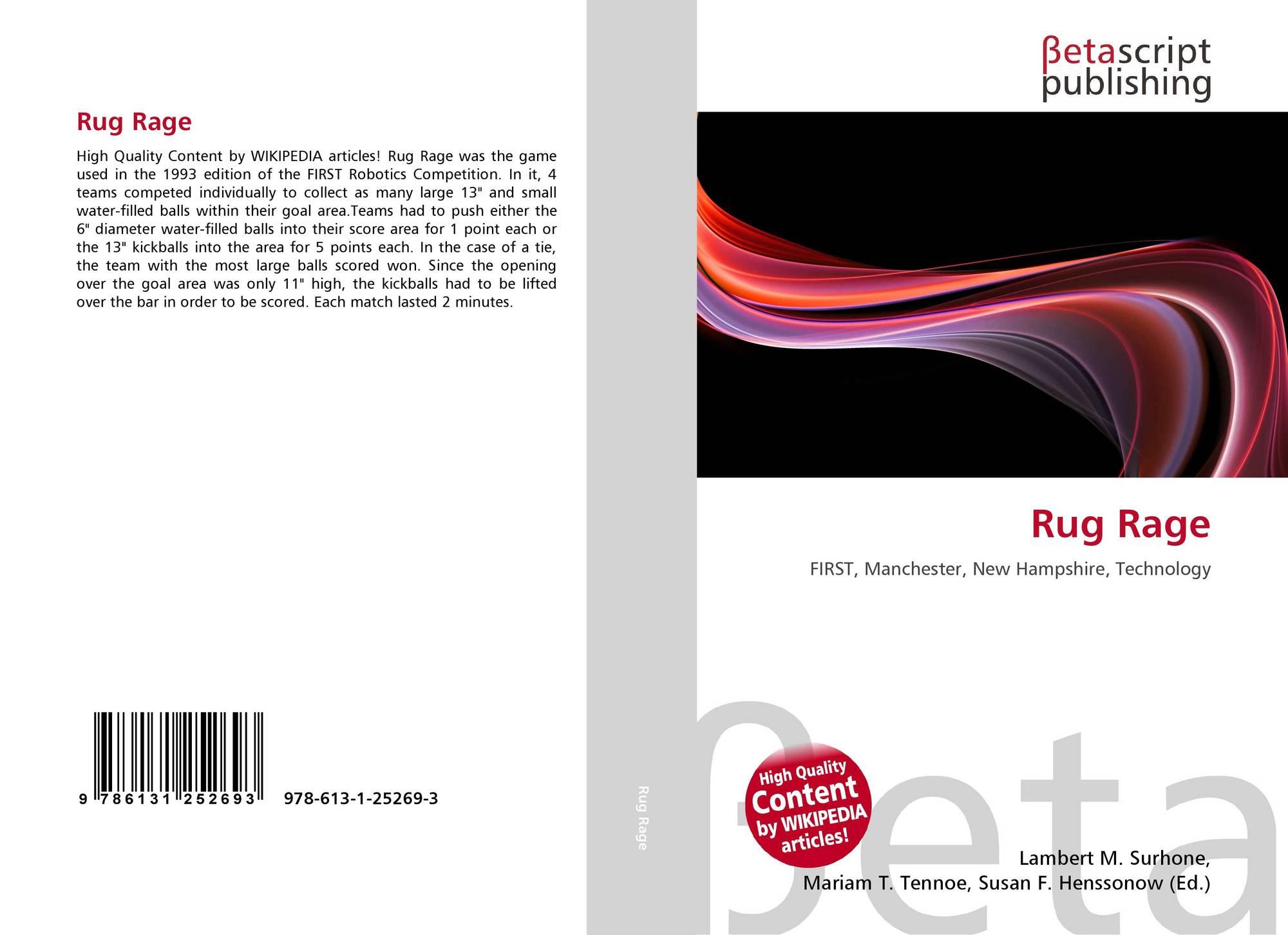 Rug Rage 978 613 1 25269 3 6131252696