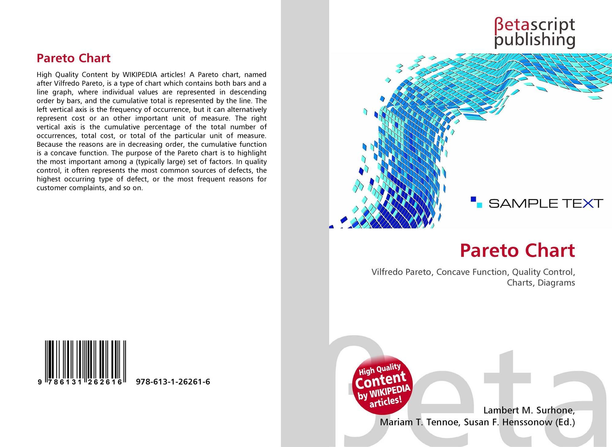 Pareto chart 978 613 1 26261 6 6131262616 9786131262616 bookcover of pareto chart nvjuhfo Gallery