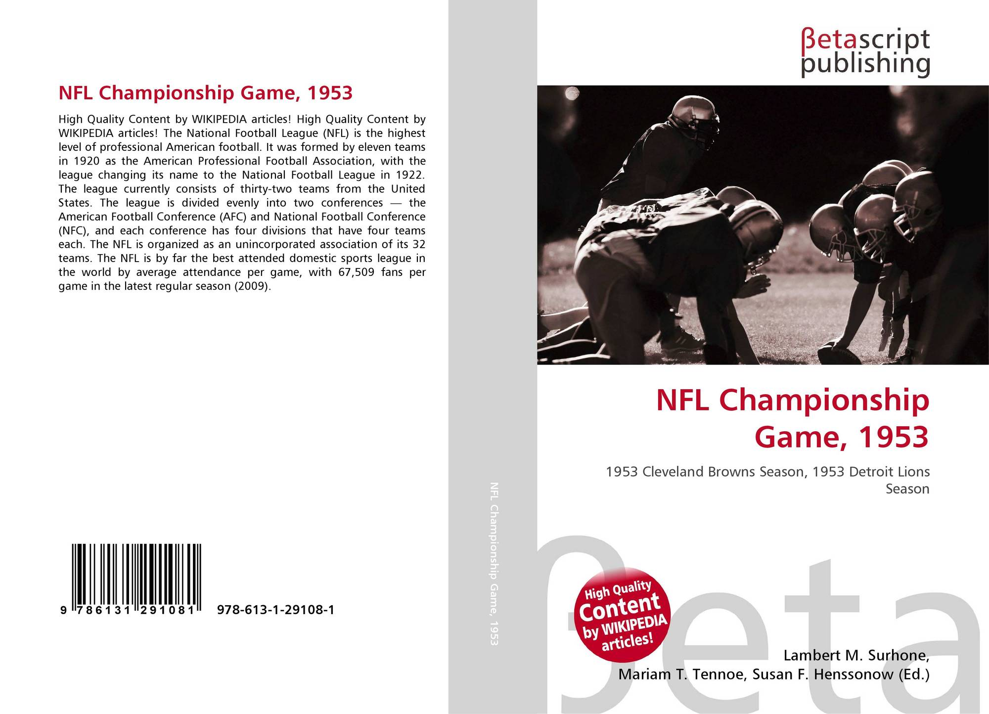 a description of professional football which was the greatest game that changed america And still one of the best professional football tolar helped houston win the first american football league was changed in an exhibition game.