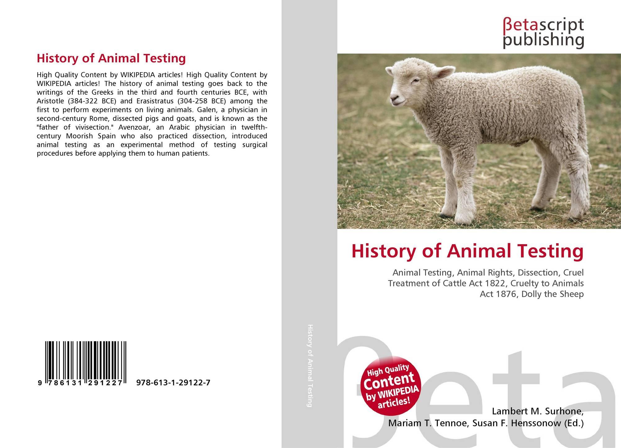 experimental animal testing essay