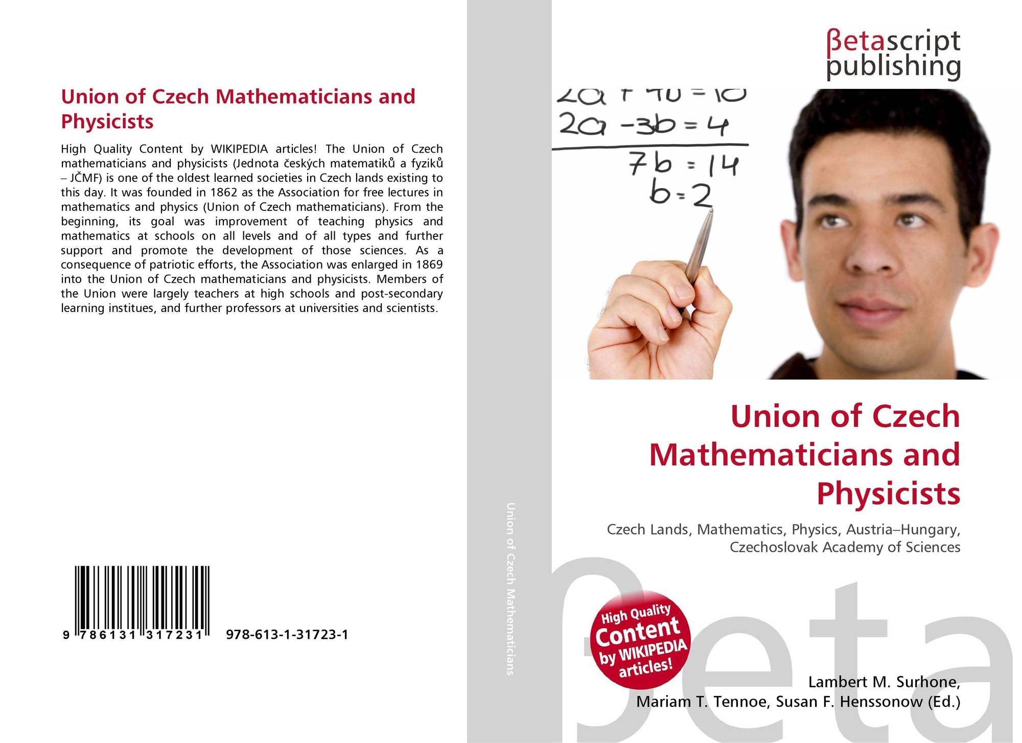 Union of Czech Mathematicians and Physicists, 978-613-1