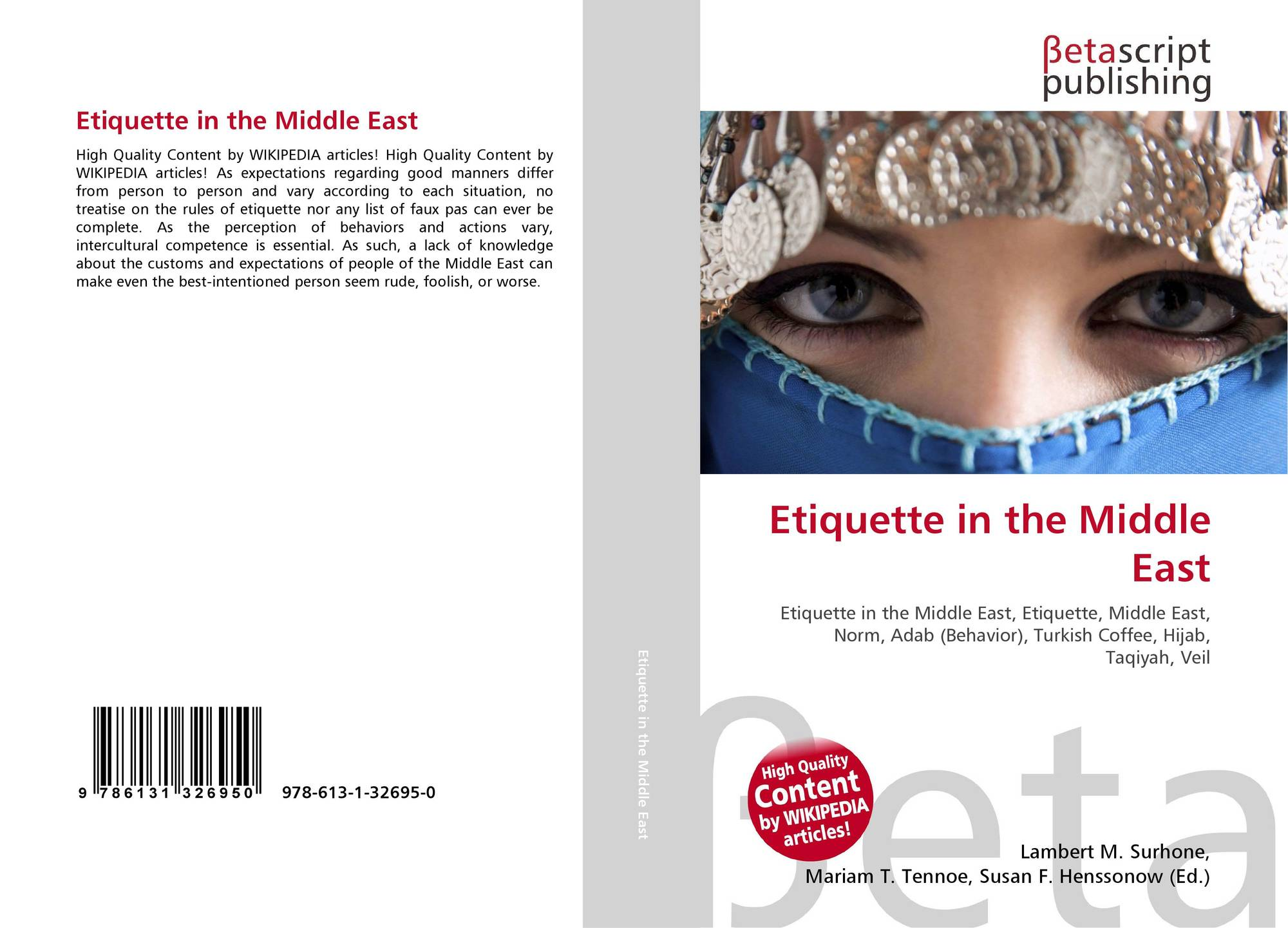 Etiquette in the Middle East, 978-613-1-32695-0, 6131326959