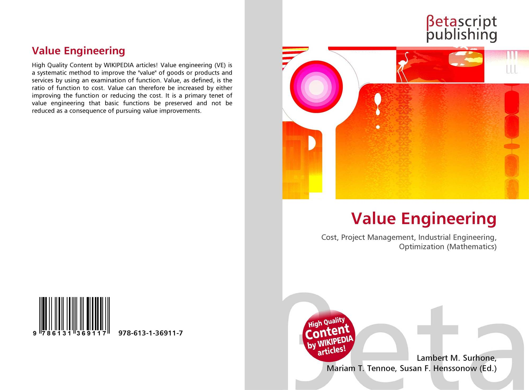 Search Results For Value Engineering