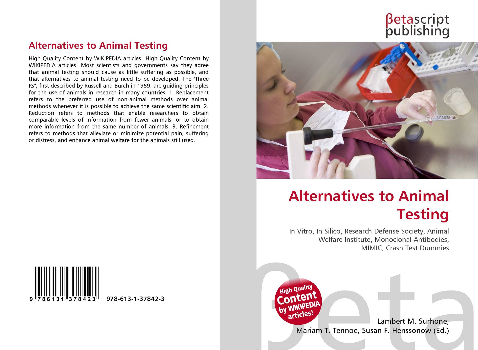 an discussion of the possibility of aids testing on animals Unlike most editing & proofreading services, we edit for everything: grammar, spelling, punctuation, idea flow, sentence structure, & more get started now.