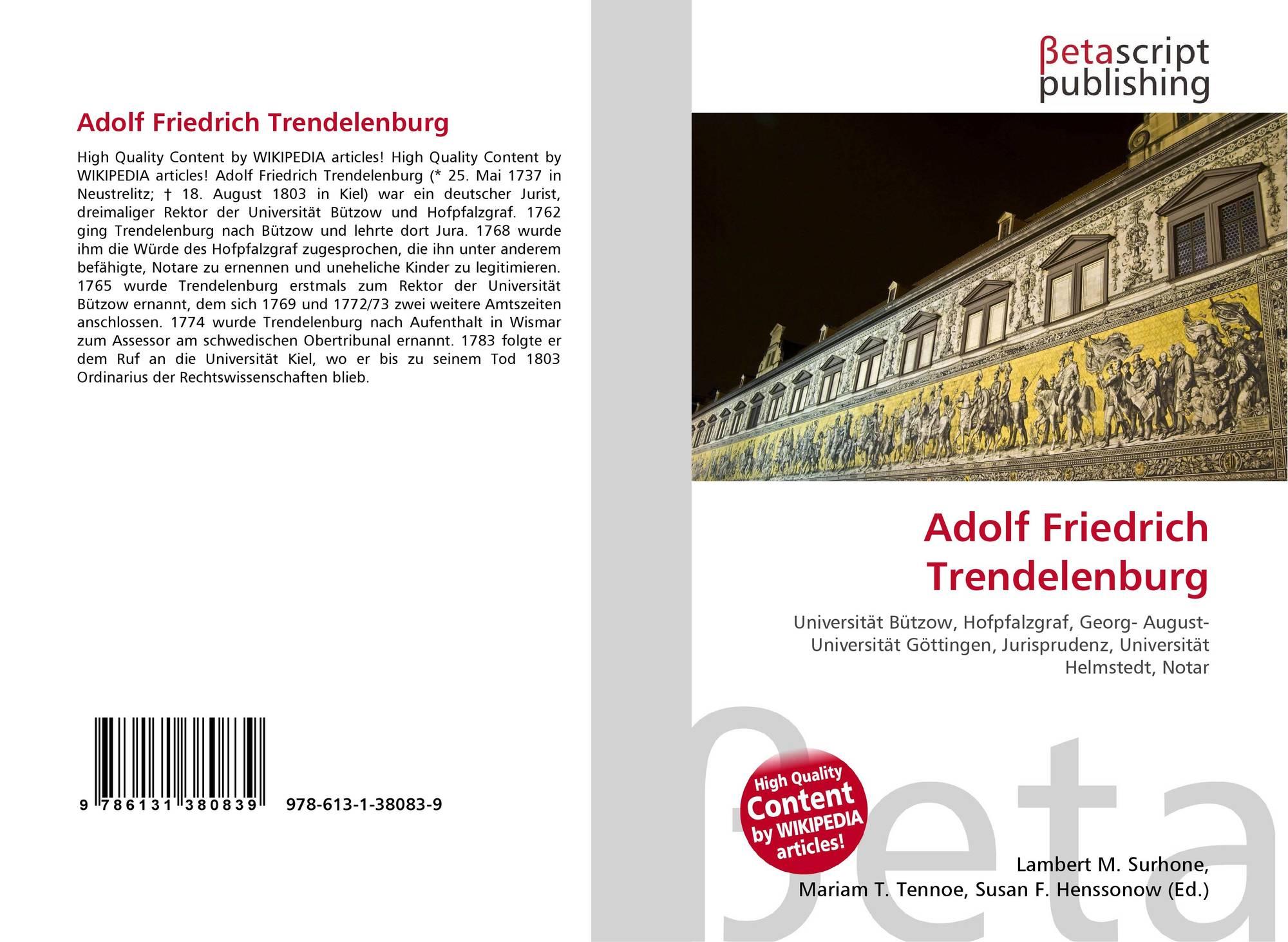 Friedrich Trendelenburg