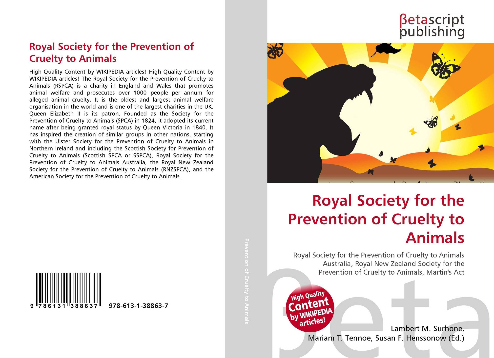 "search results for ""cruelty towards animals""  bookcover of royal society for the prevention of cruelty to animals"