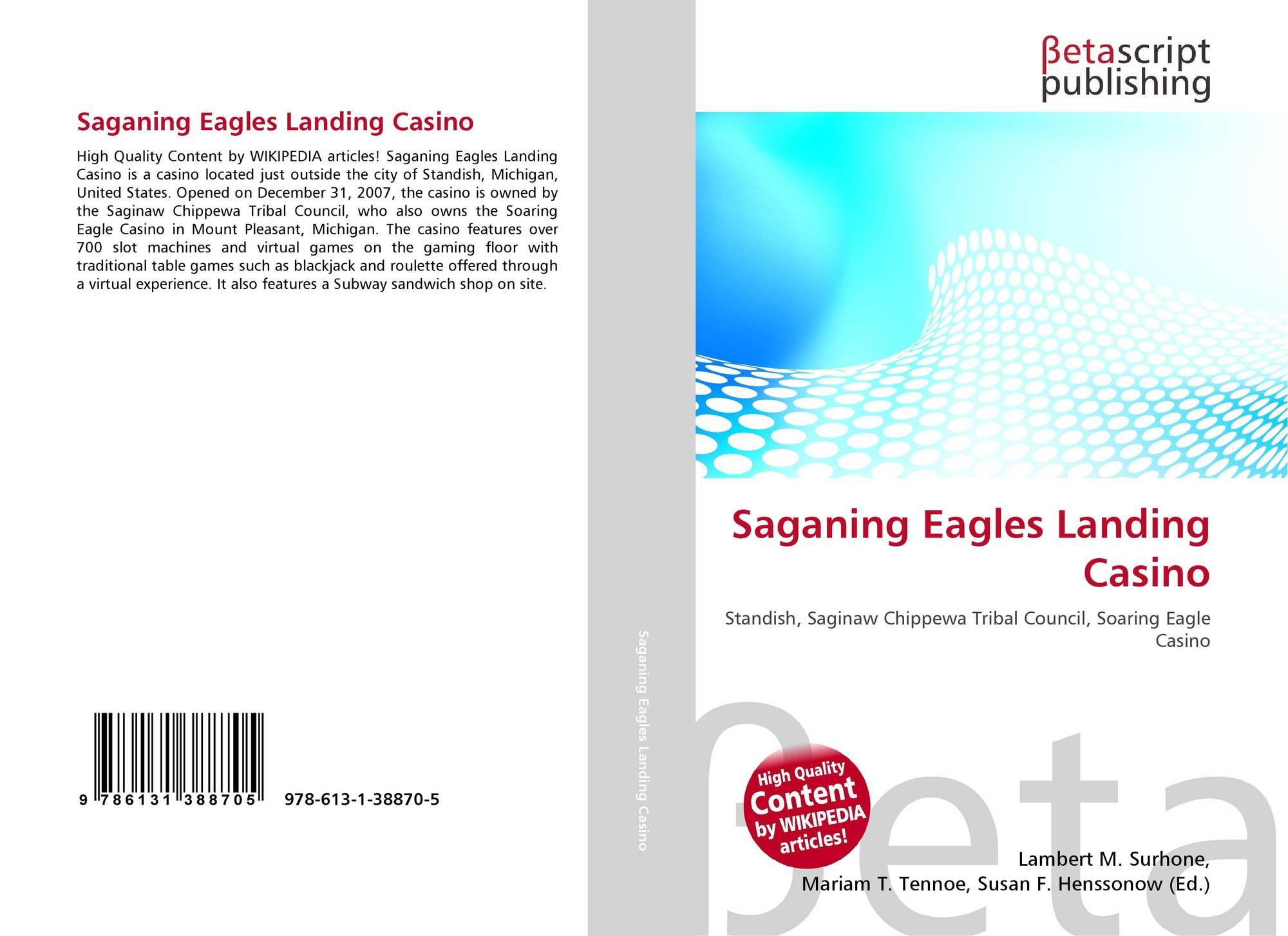 Saganing eagles landing casino diy casino night games