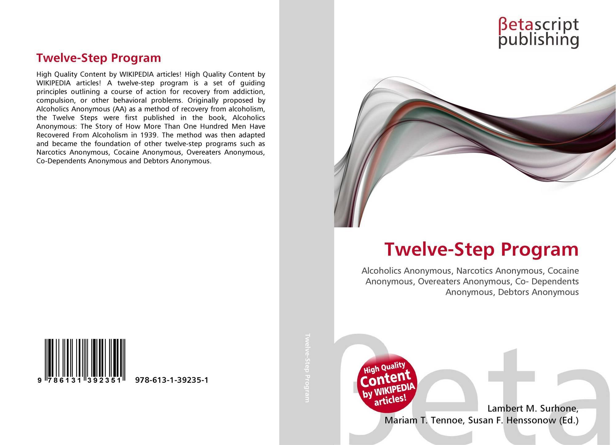 12 step program The ridge uses a 12-step program, a set of guiding principles, to help patients through drug and alcohol rehabilitation.