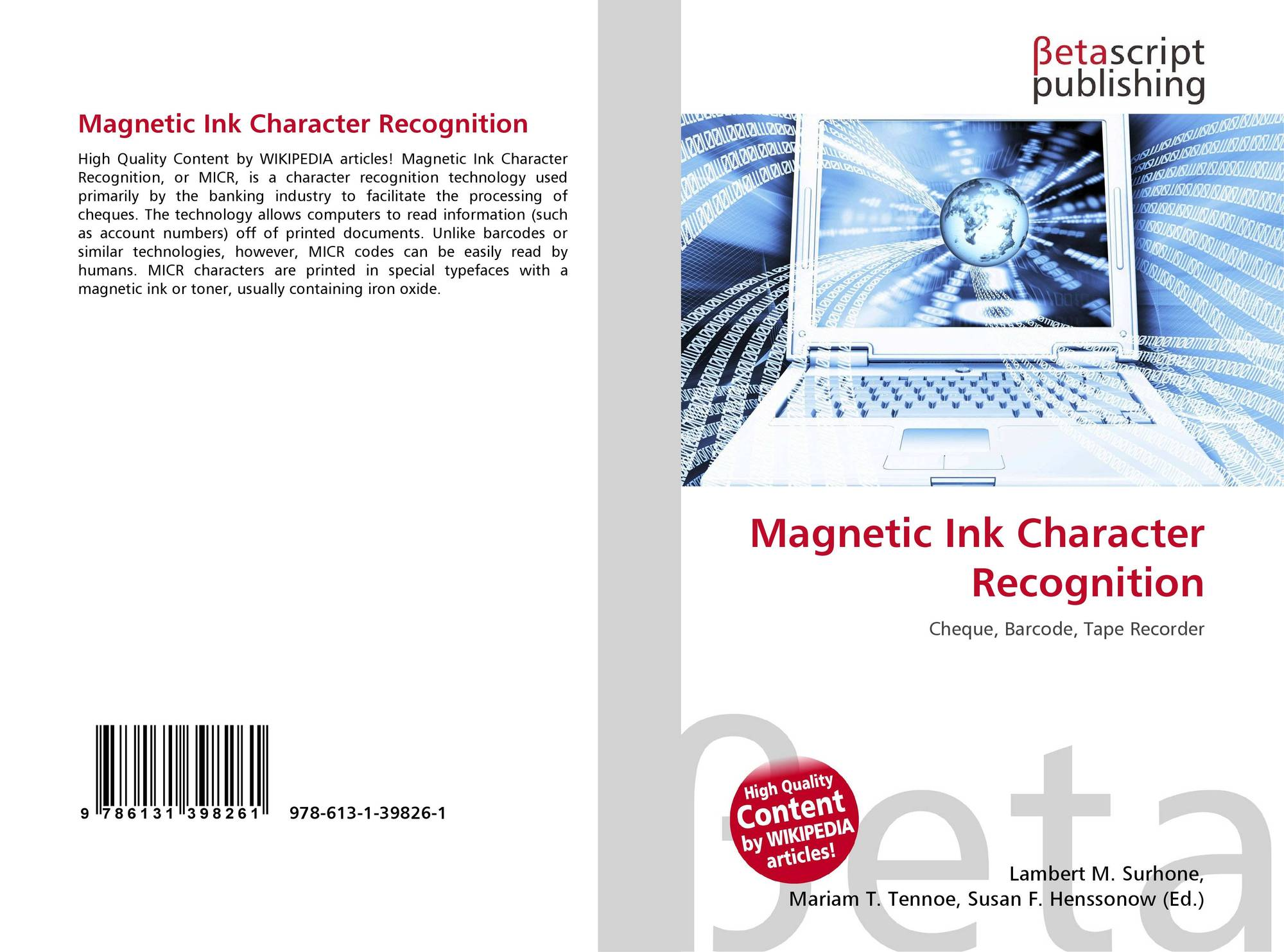 magnetic ink character recognition - photo #21