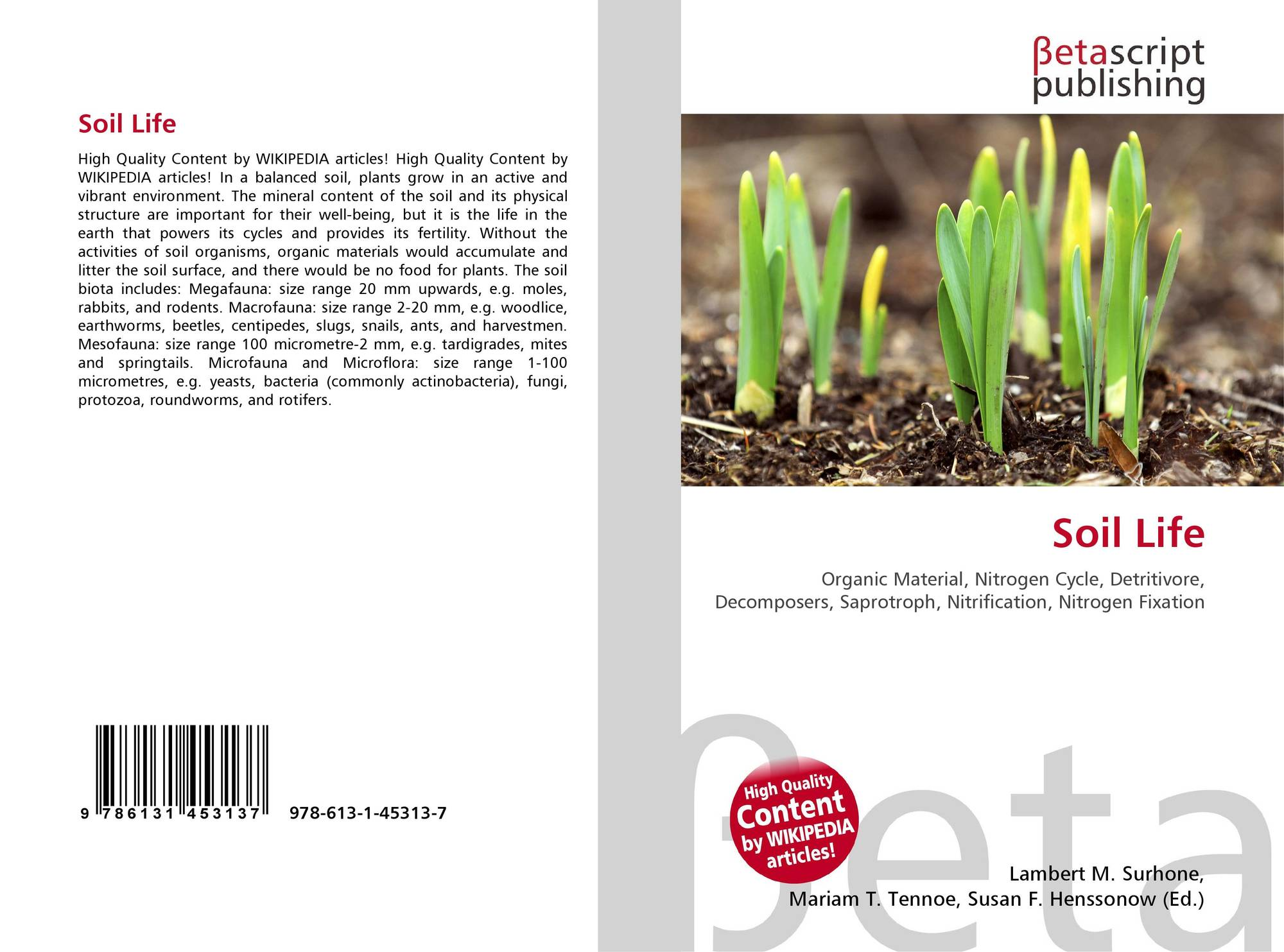 Search results for soil bioengineering for Soil our life