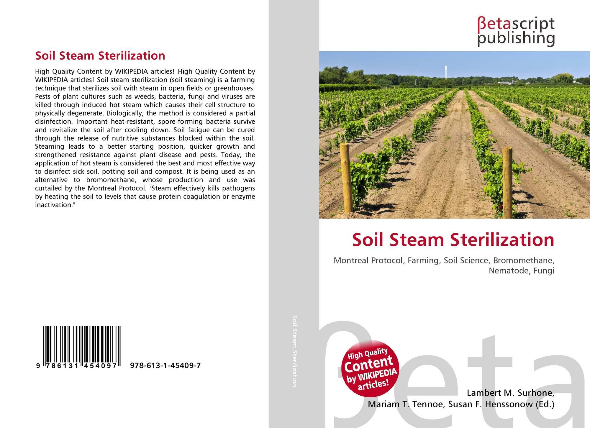 Soil Steam Sterilization, 978-613-1-45409-7, 6131454094