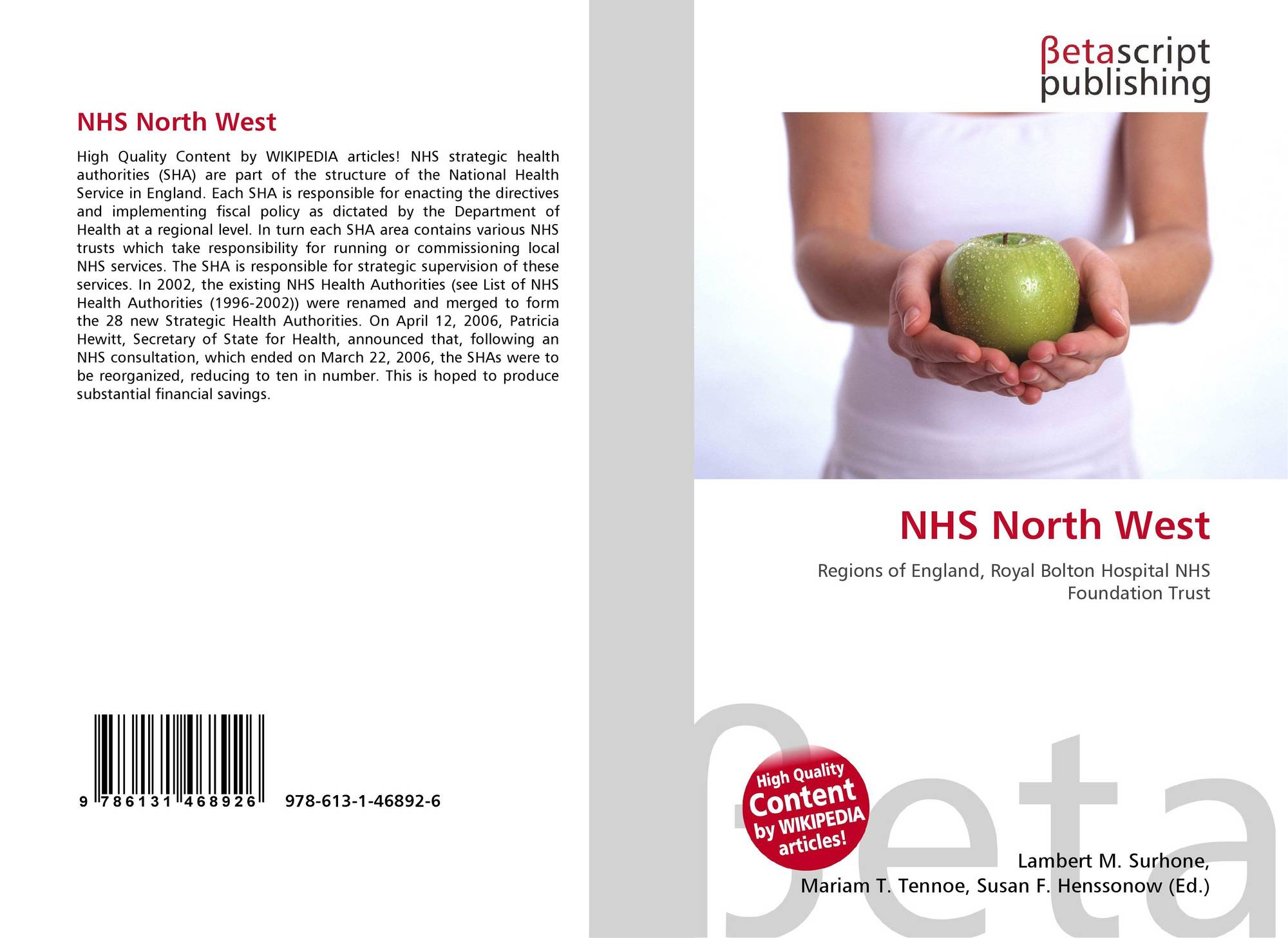 the continuous efforts to improve the national health service nhs