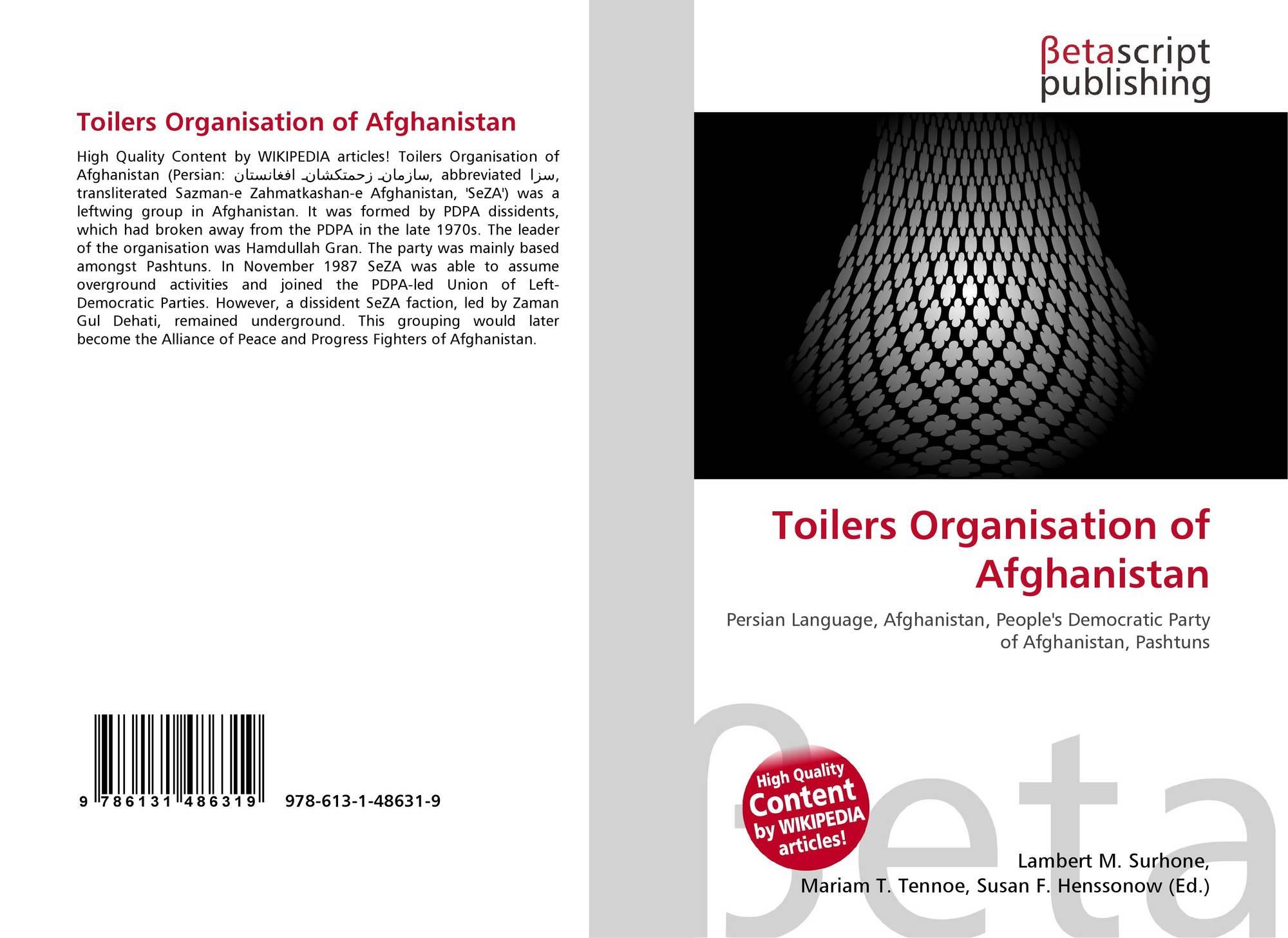 Toilers Organisation of Afghanistan, 978-613-1-48631-9, 613148631X