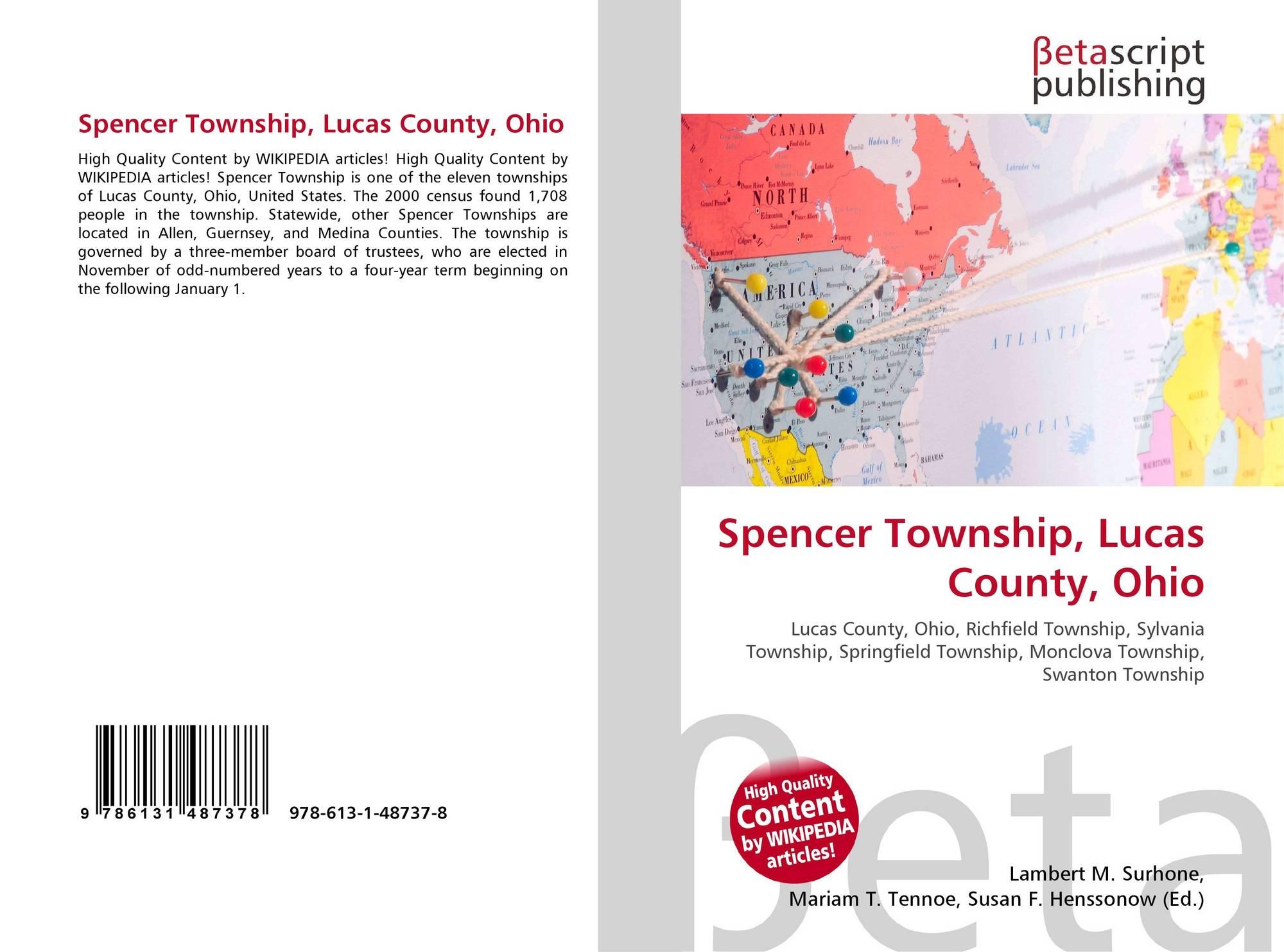 Ohio lucas county monclova - Bookcover Of Spencer Township Lucas County Ohio