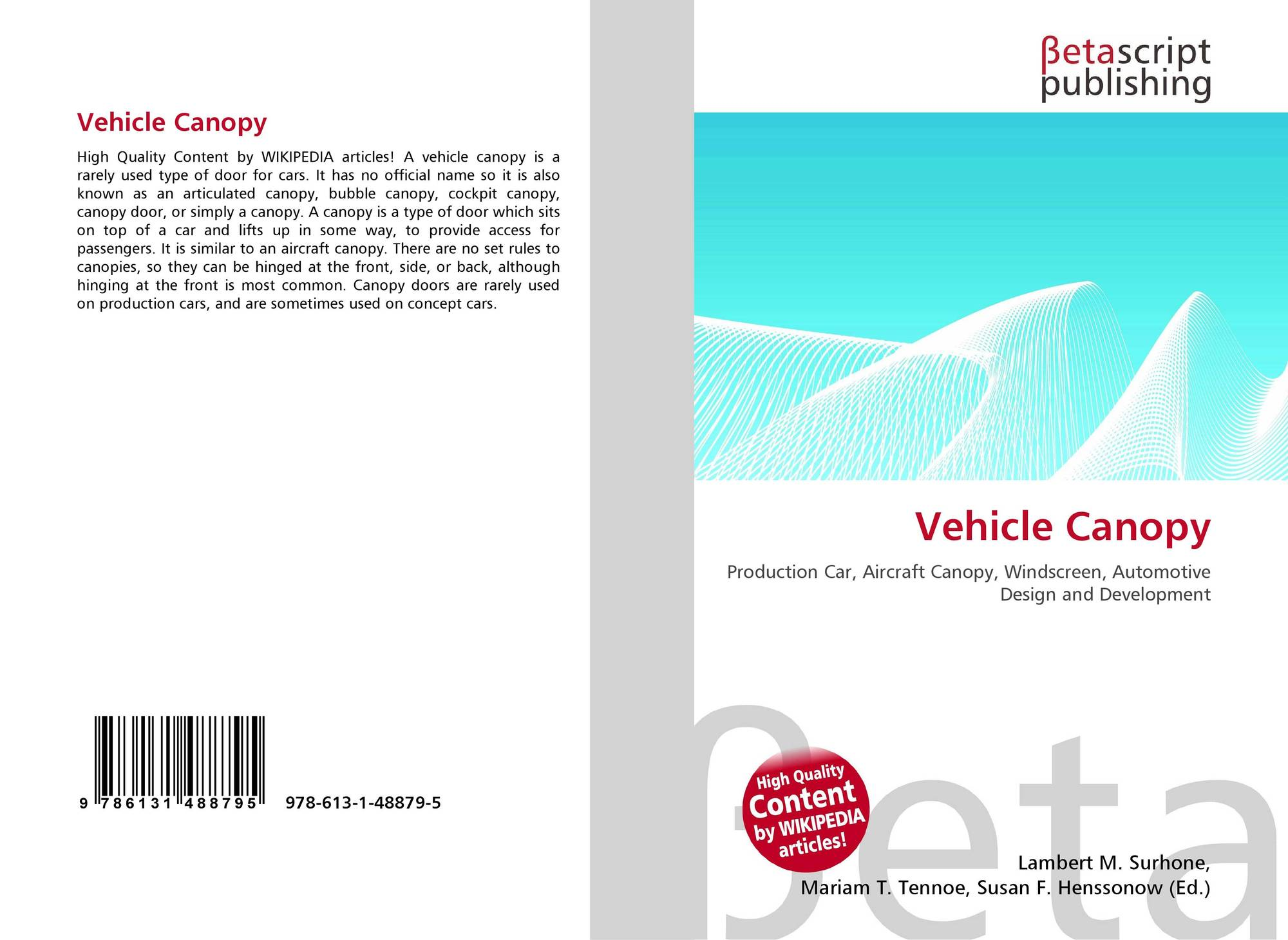 Bookcover of Vehicle Canopy  sc 1 st  MoreBooks! & Search results for