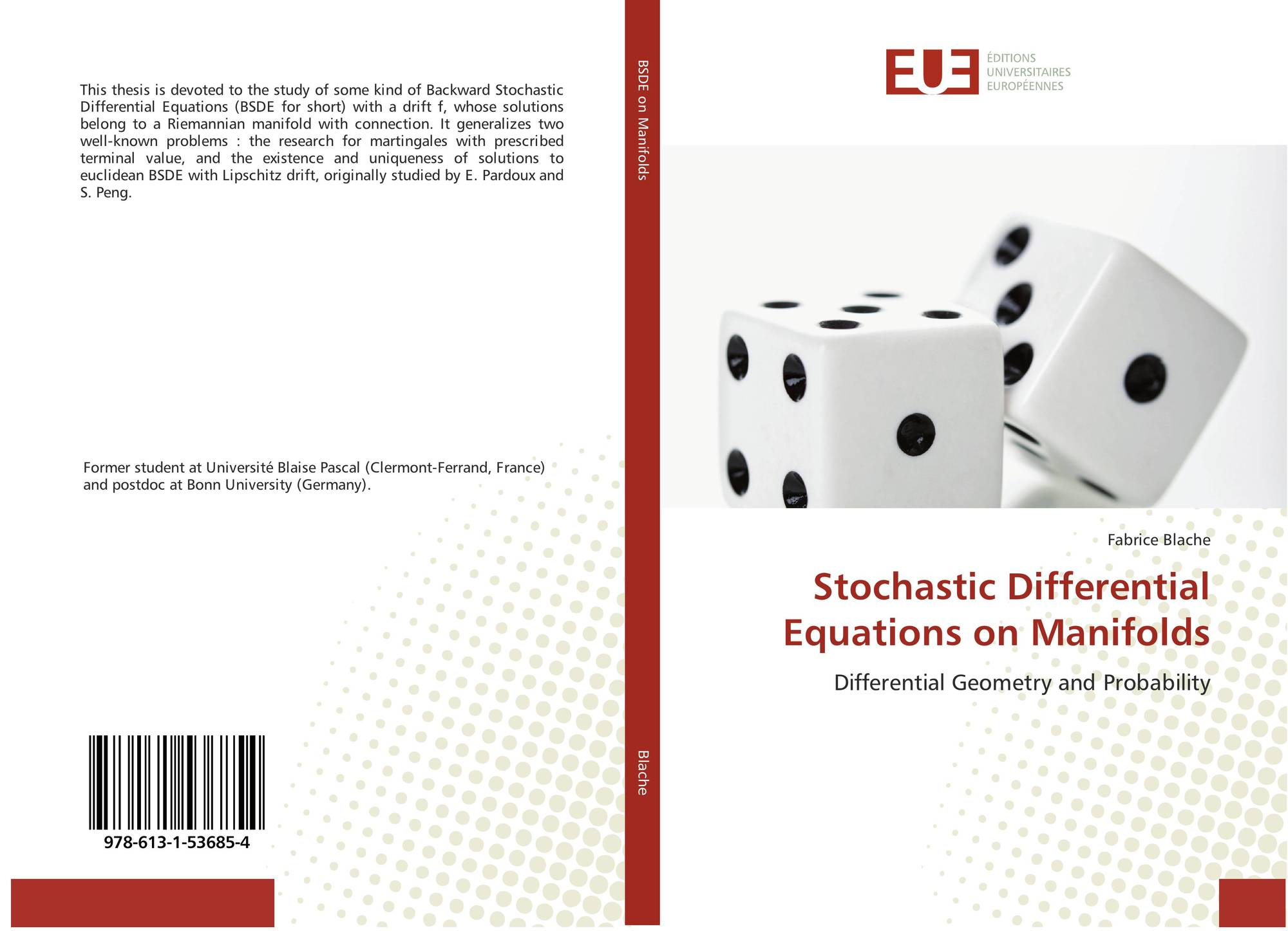 Stochastic Differential Equations on Manifolds, 978-613-1
