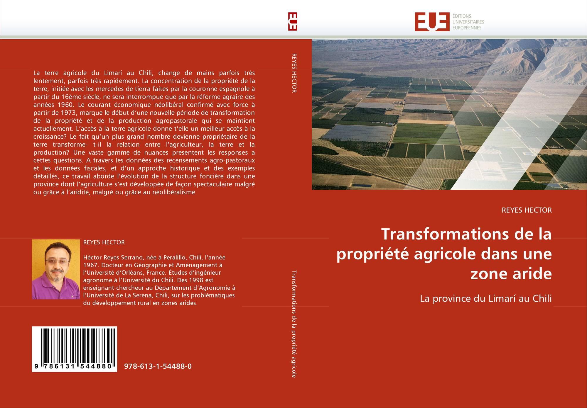 Agriculture zone aride