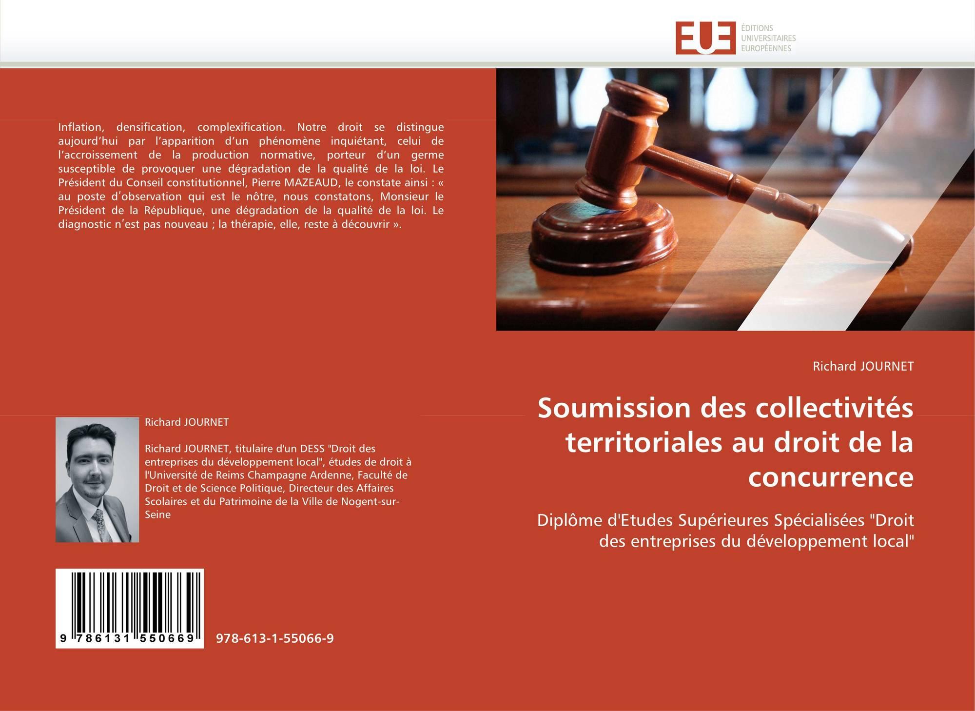 droit de la concurrence dissertation Le droit de la concurrence est constitué par l'ensemble des règles régissant le  comportement  ces deux logiques, du droit de la concurrence et du service  public, paraissent donc  méthodologie de la dissertation juridique.