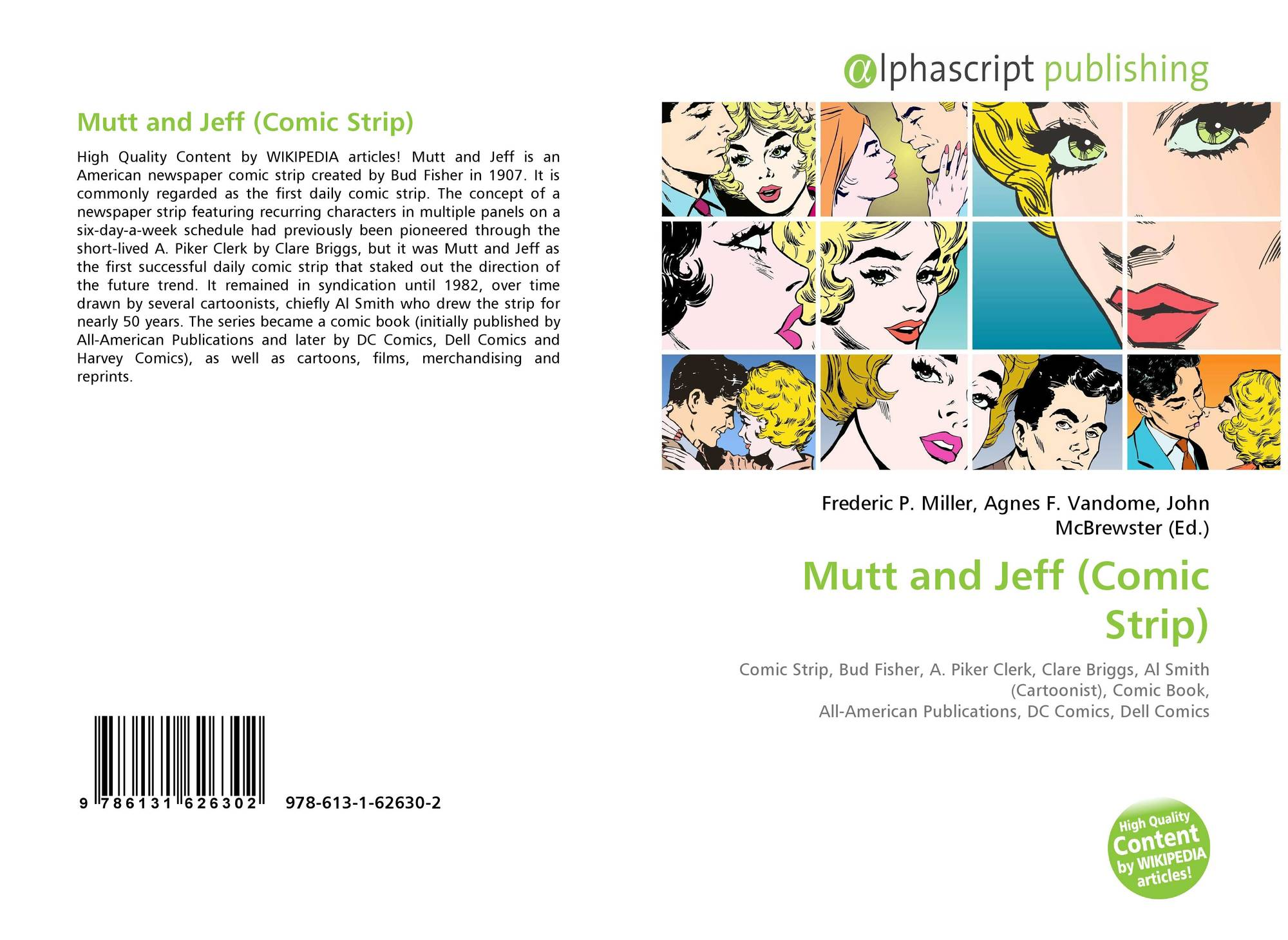 Mutt and Jeff (Comic Strip), 978-613-1-62630-2, 6131626308