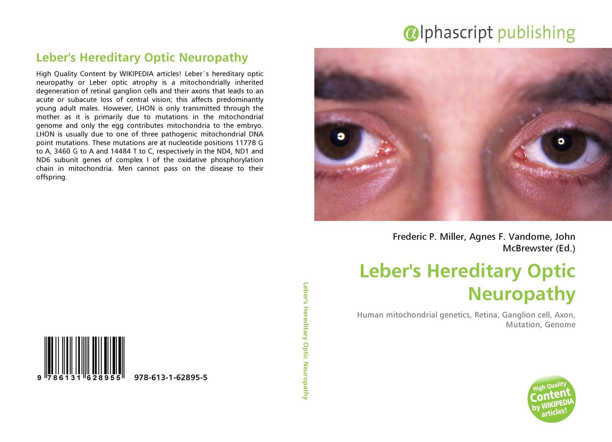 LEBER HEREDITARY OPTIC NEUROPATHY PDF DOWNLOAD
