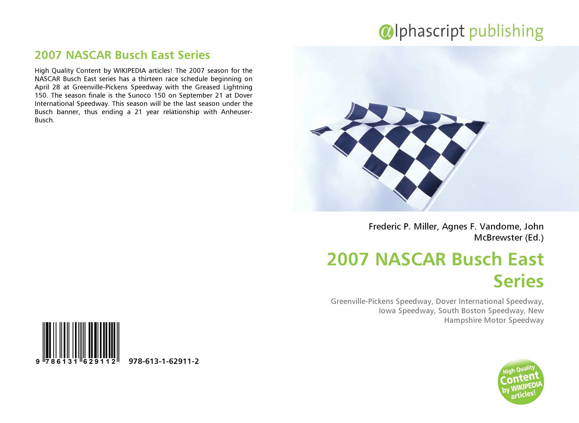 2007 NASCAR Busch East Series 978 613 1 62911 2 6131629110
