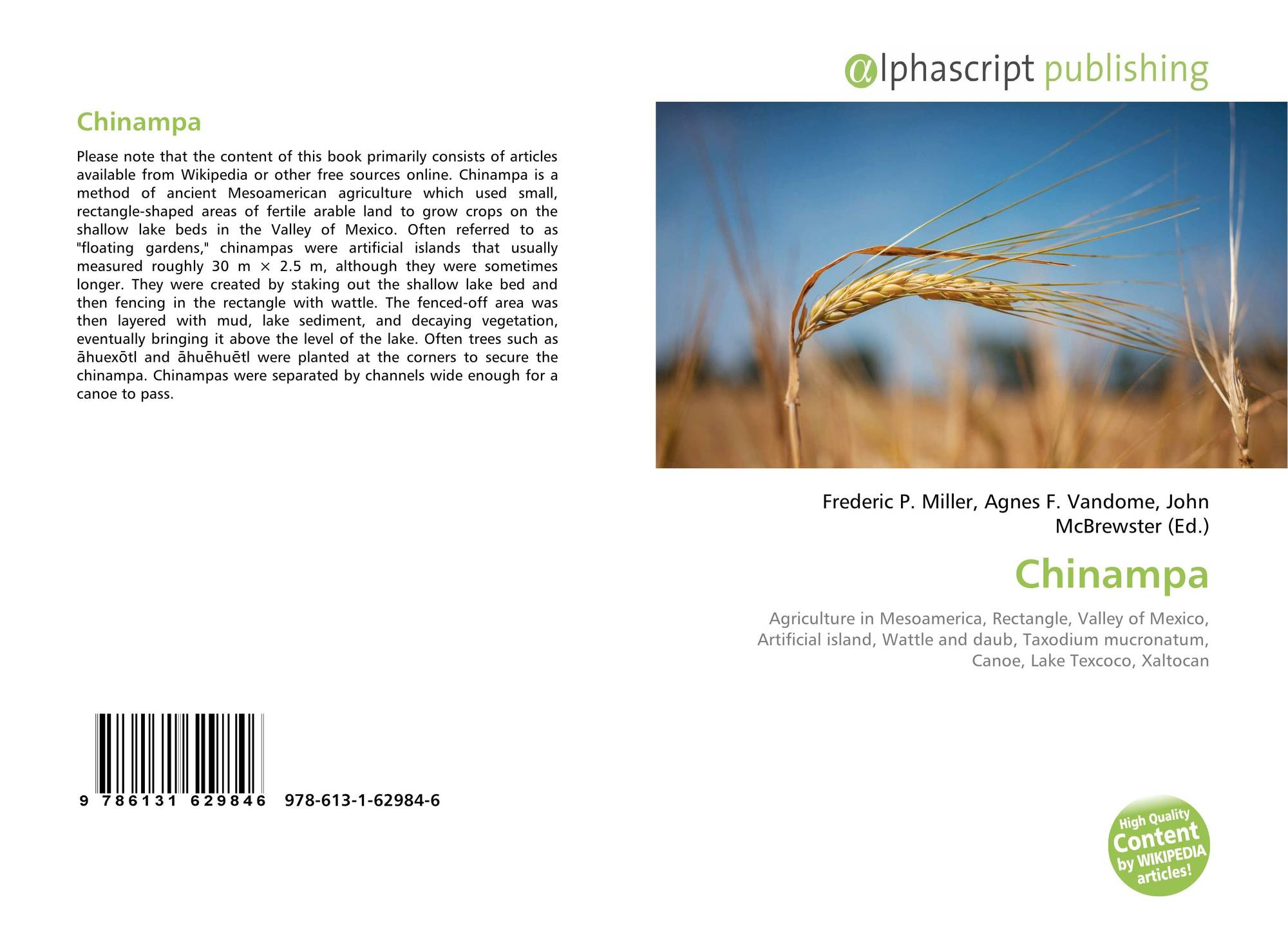 the invention of chinampa agriculture essay