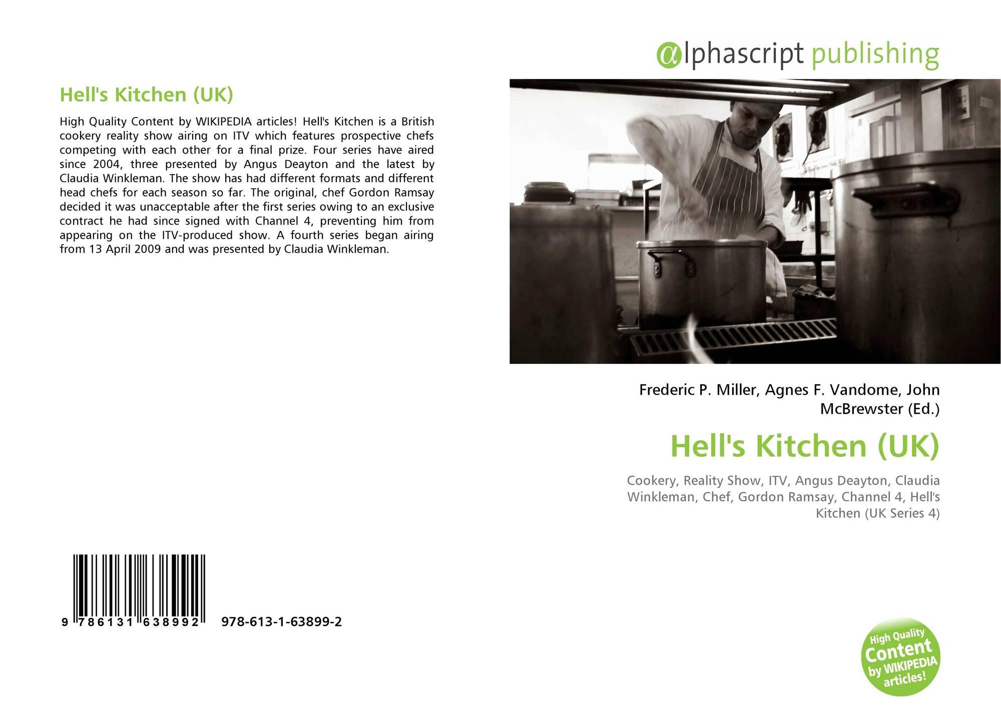 Hell S Kitchen Uk 978 613 1 63899 2 6131638993 9786131638992