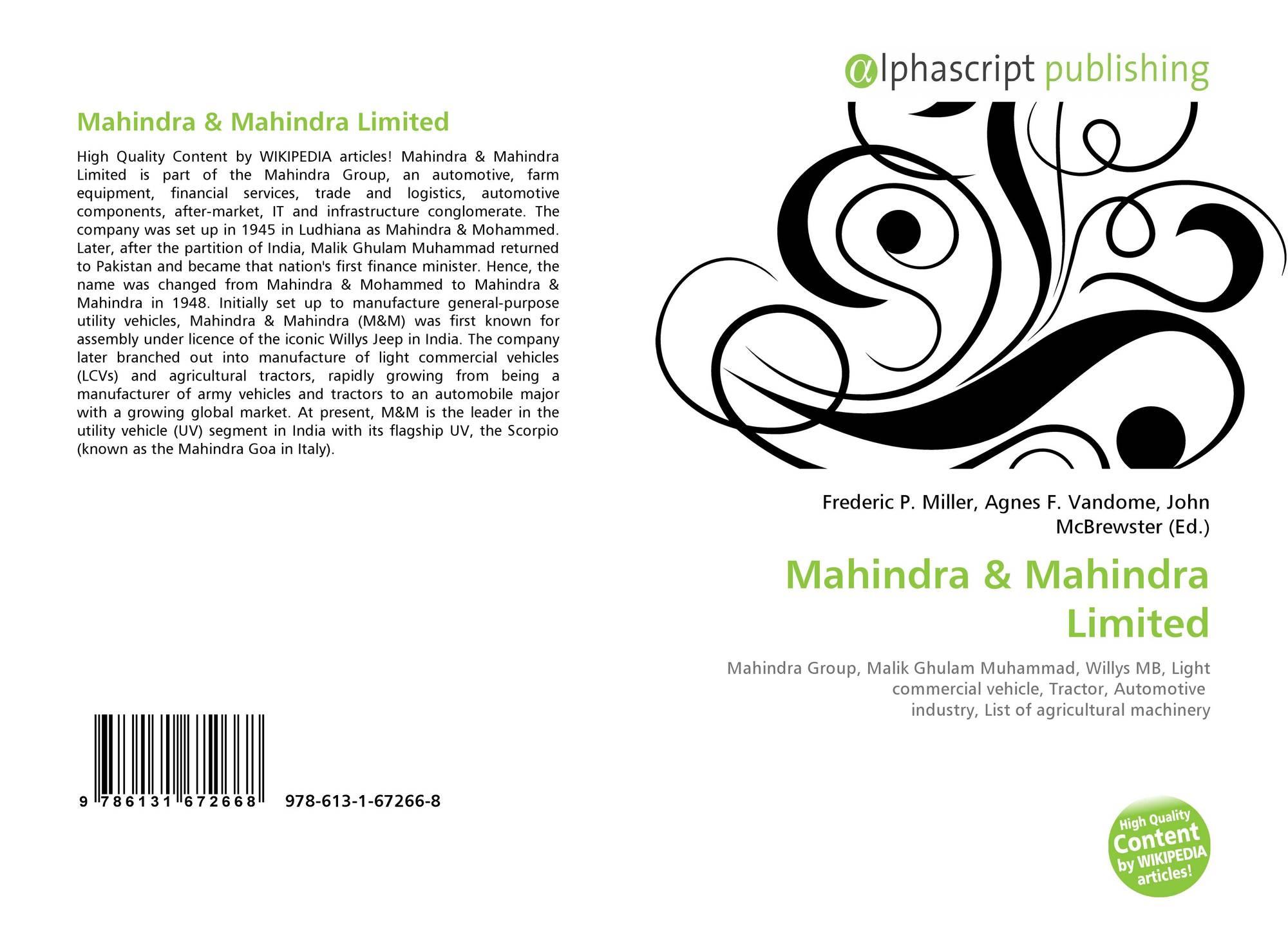 mahindra  978