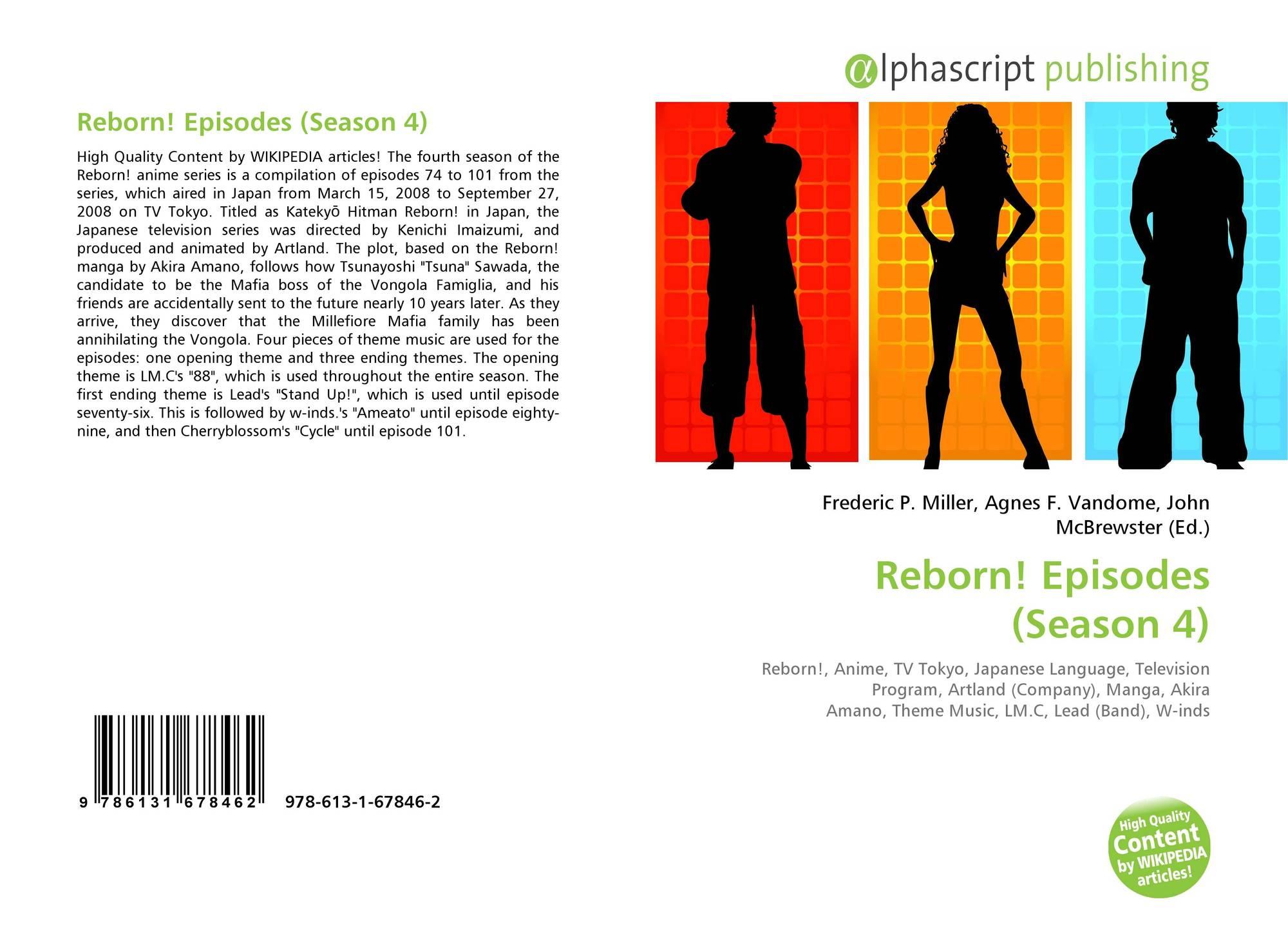 Reborn! Episodes (Season 4), 978-613-1-67846-2, 6131678464