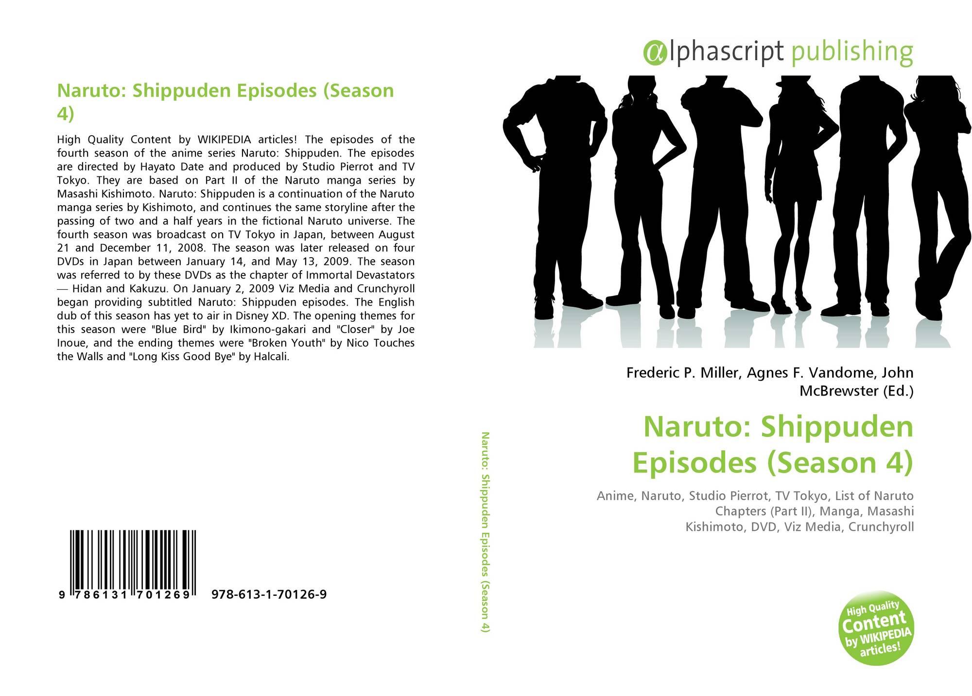 Naruto: Shippuden Episodes (Season 4), 978-613-1-70126-9