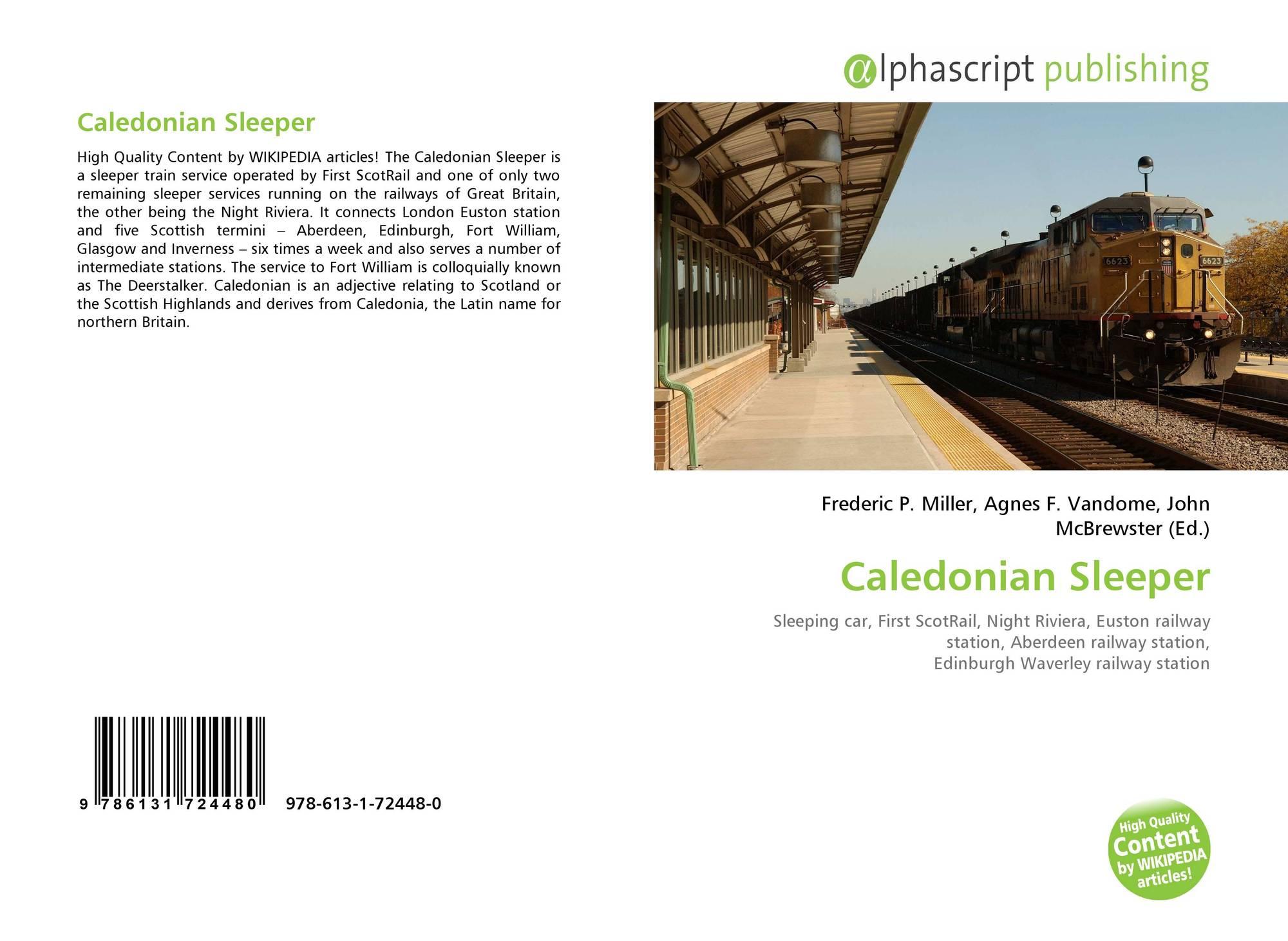 Caledonian Sleeper 978 613 1 72448 0 6131724482 9786131724480