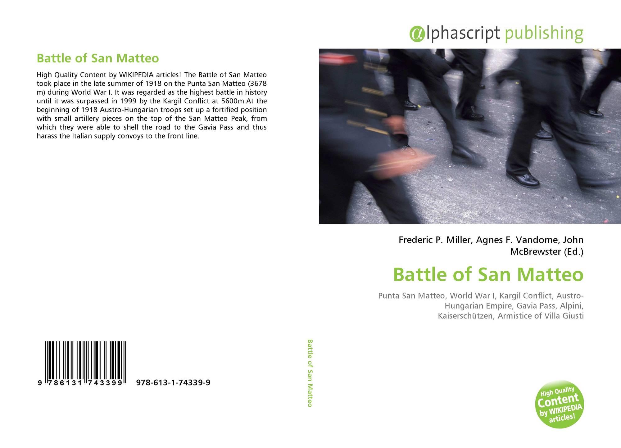 Battle of San Matteo, 978-613-1-74339-9, 6131743398 ...
