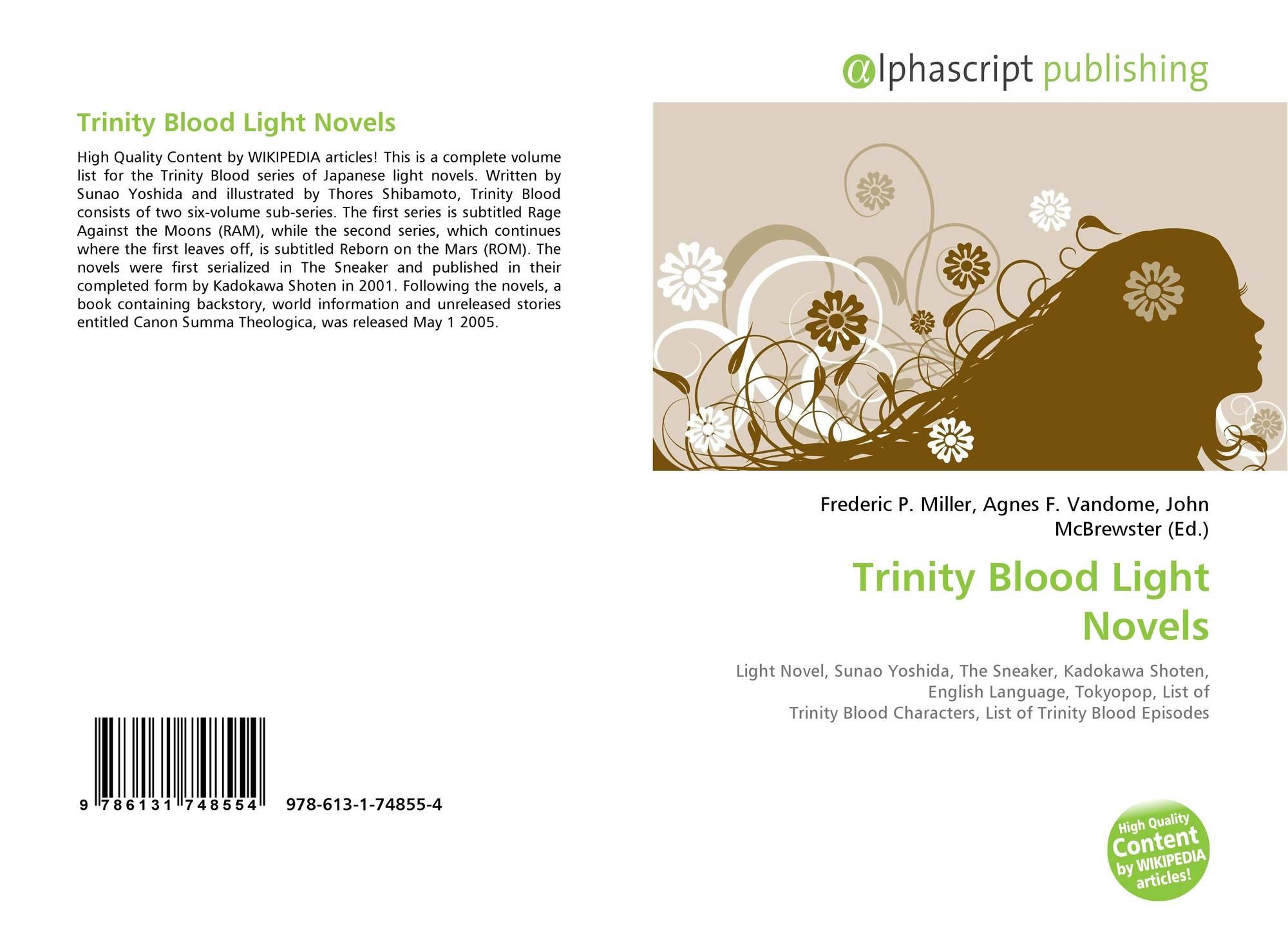 Trinity Blood Light Novels, 978-613-1-74855-4, 6131748551