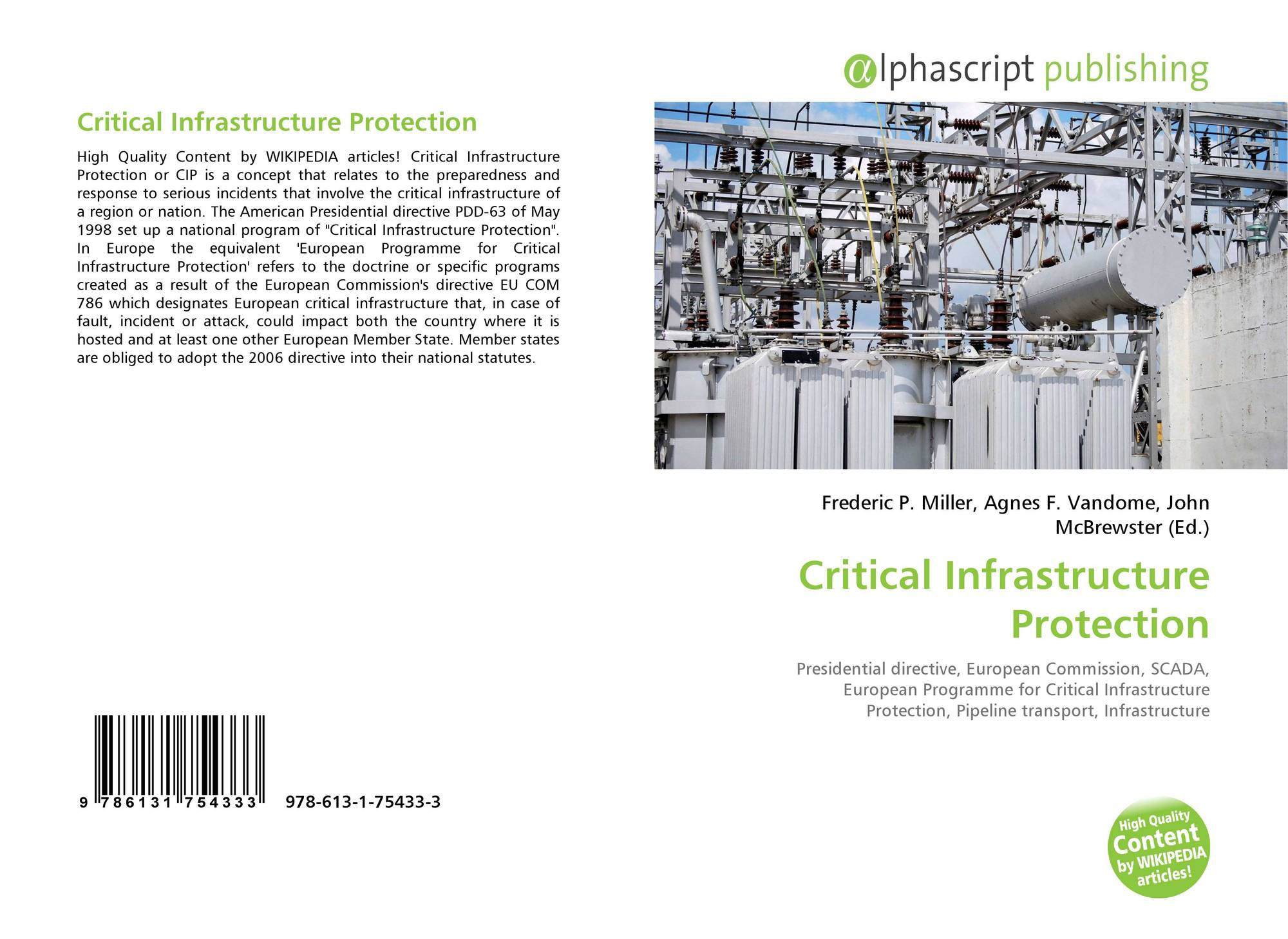 critical infrastructure The national and economic security of the united states depends on the reliable functioning of critical infrastructure cybersecurity threats take advantage of the increased complexity and connectivity of critical infrastructure systems, placing the nation's security at risk.