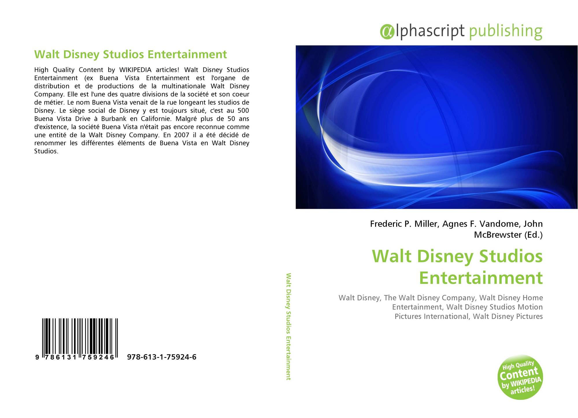 Search Results For Walt Disney Studios Home Entertainment