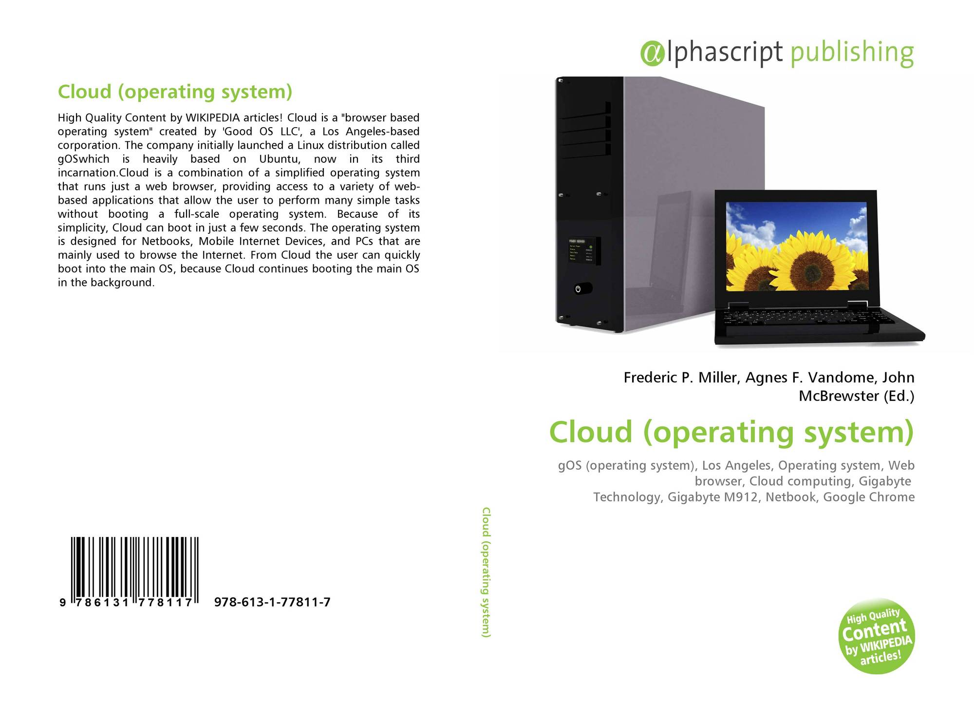 a cloud operating system