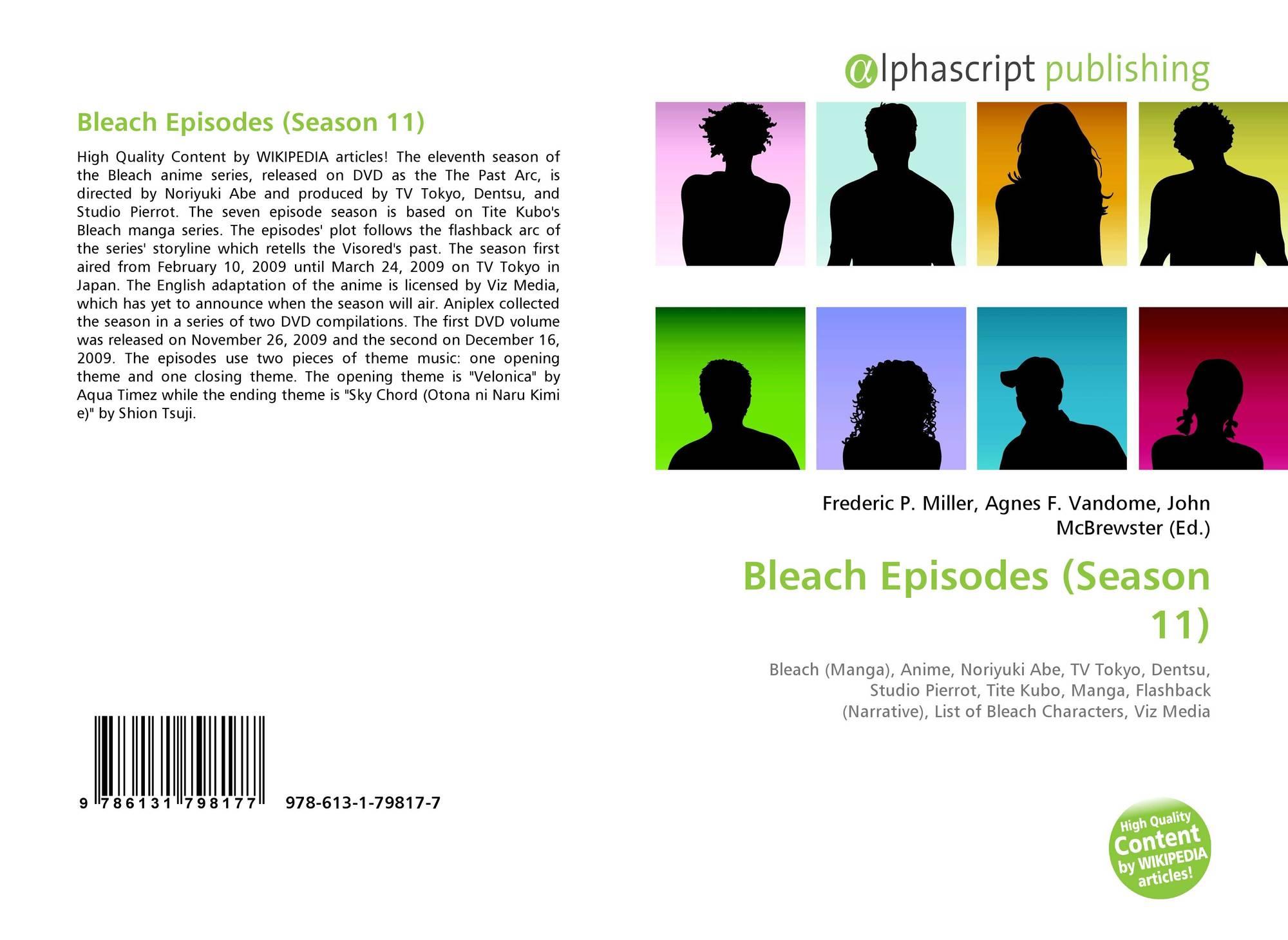 Bleach Episodes (Season 11), 978-613-1-79817-7, 6131798176
