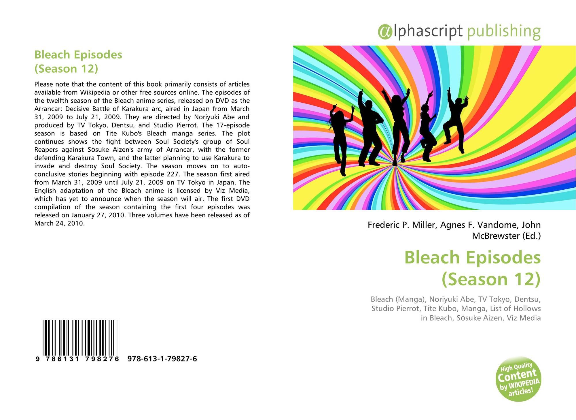 Bleach Episodes (Season 12), 978-613-1-79827-6, 6131798273