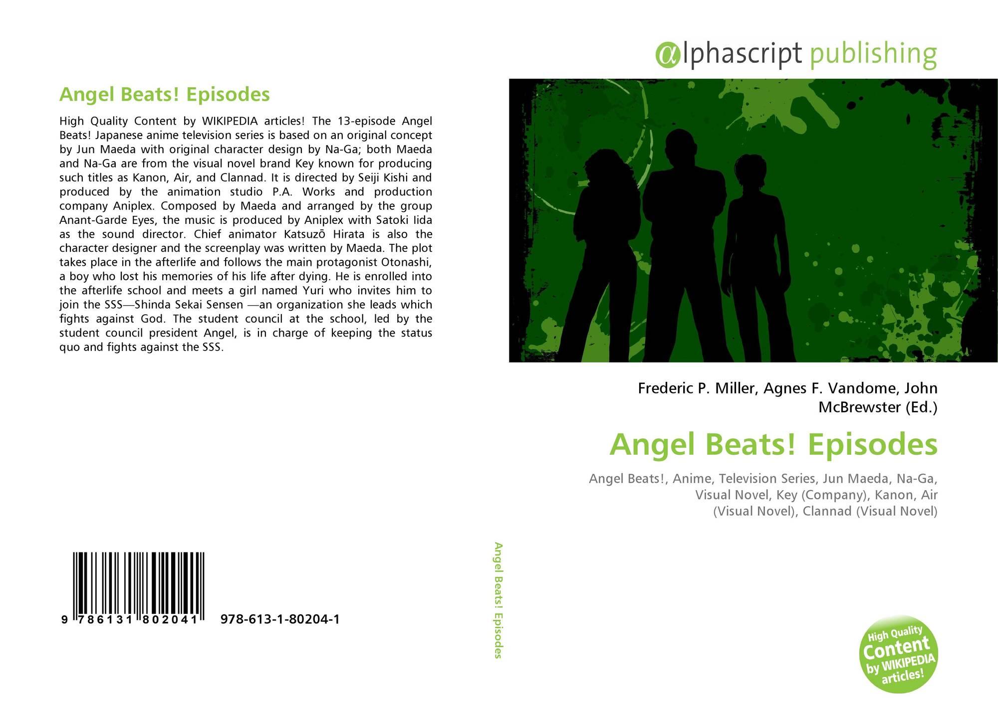 Angel Beats! Episodes, 978-613-1-80204-1, 6131802041