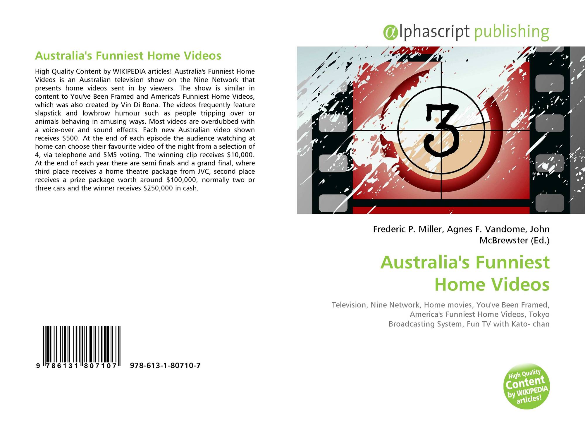 Australia\'s Funniest Home Videos, 978-613-1-80710-7, 6131807108 ...