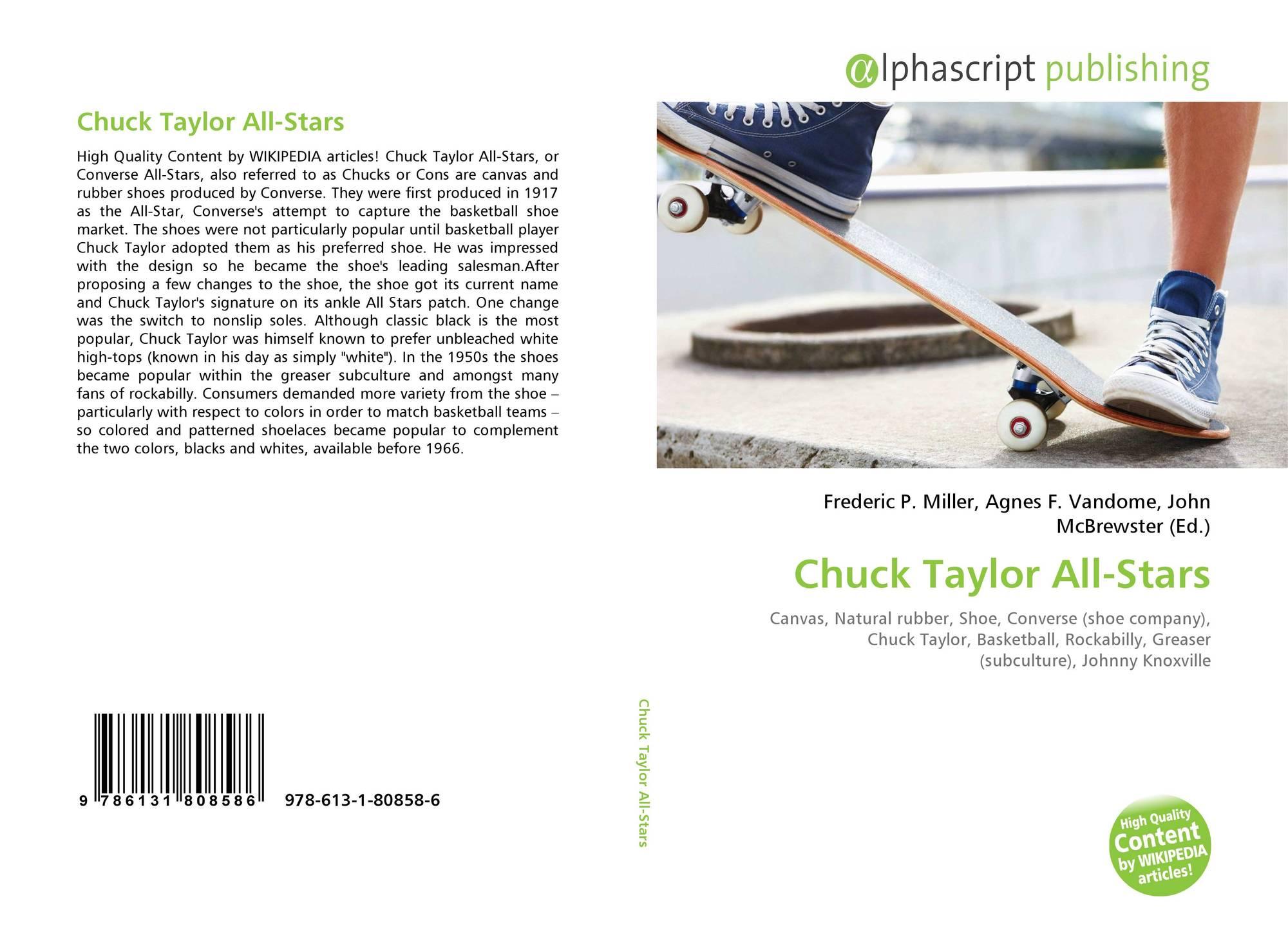 Chuck Taylor All Stars, 978 613 1 80858 6, 6131808589