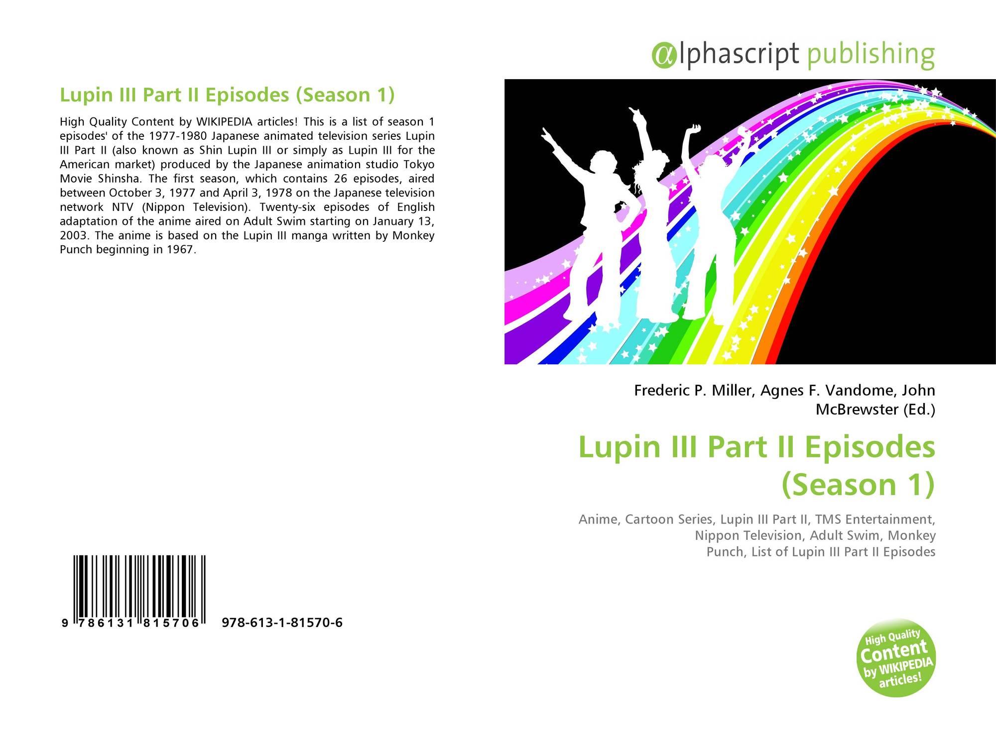Lupin III Part II Episodes (Season 1), 978-613-1-81570-6, 6131815704