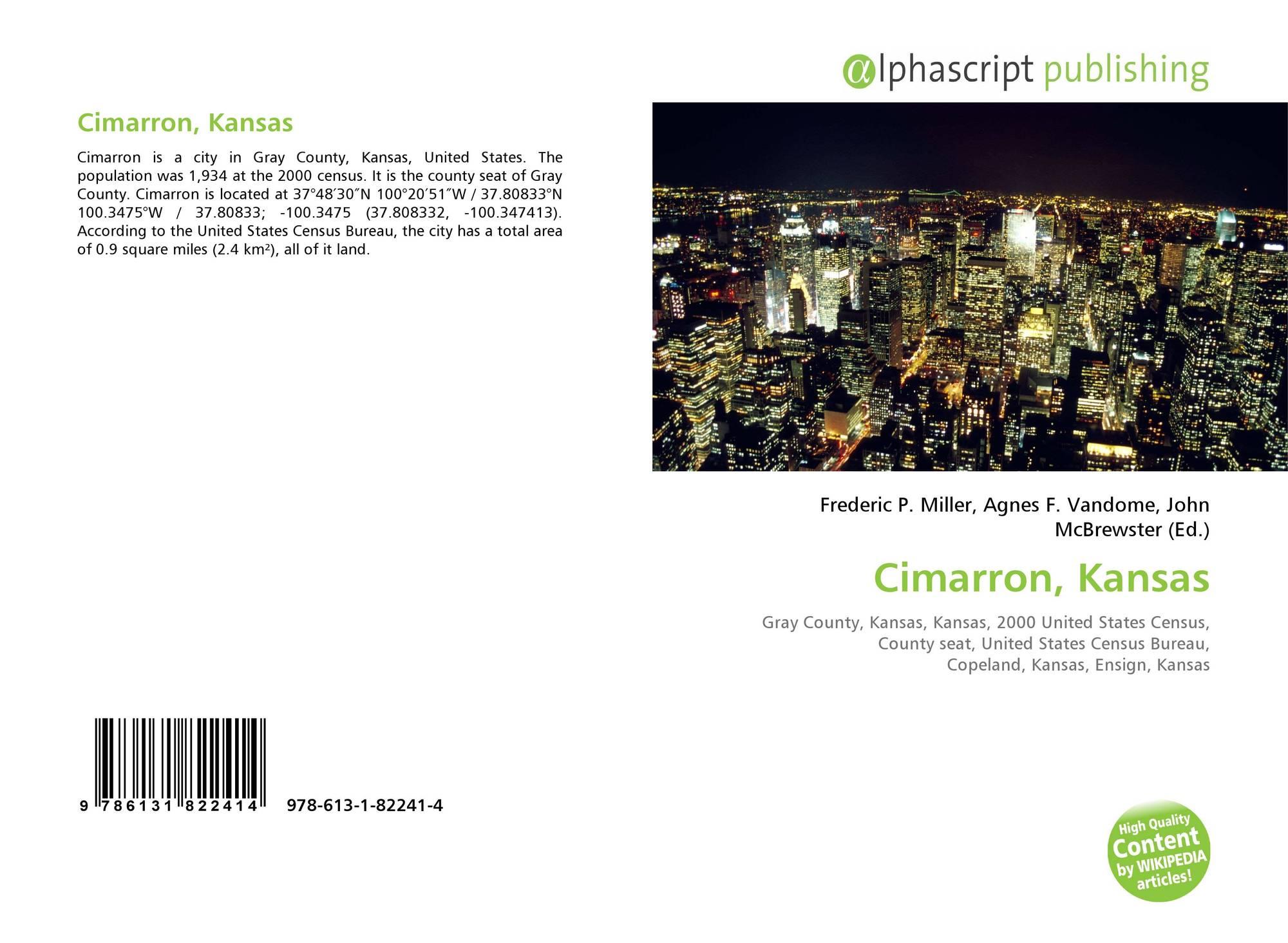 Kansas gray county copeland - Bookcover Of Cimarron Kansas Omni Badge 9307e2201e5f762643a64561af3456be64a87707602f96b92ef18a9bbcada116