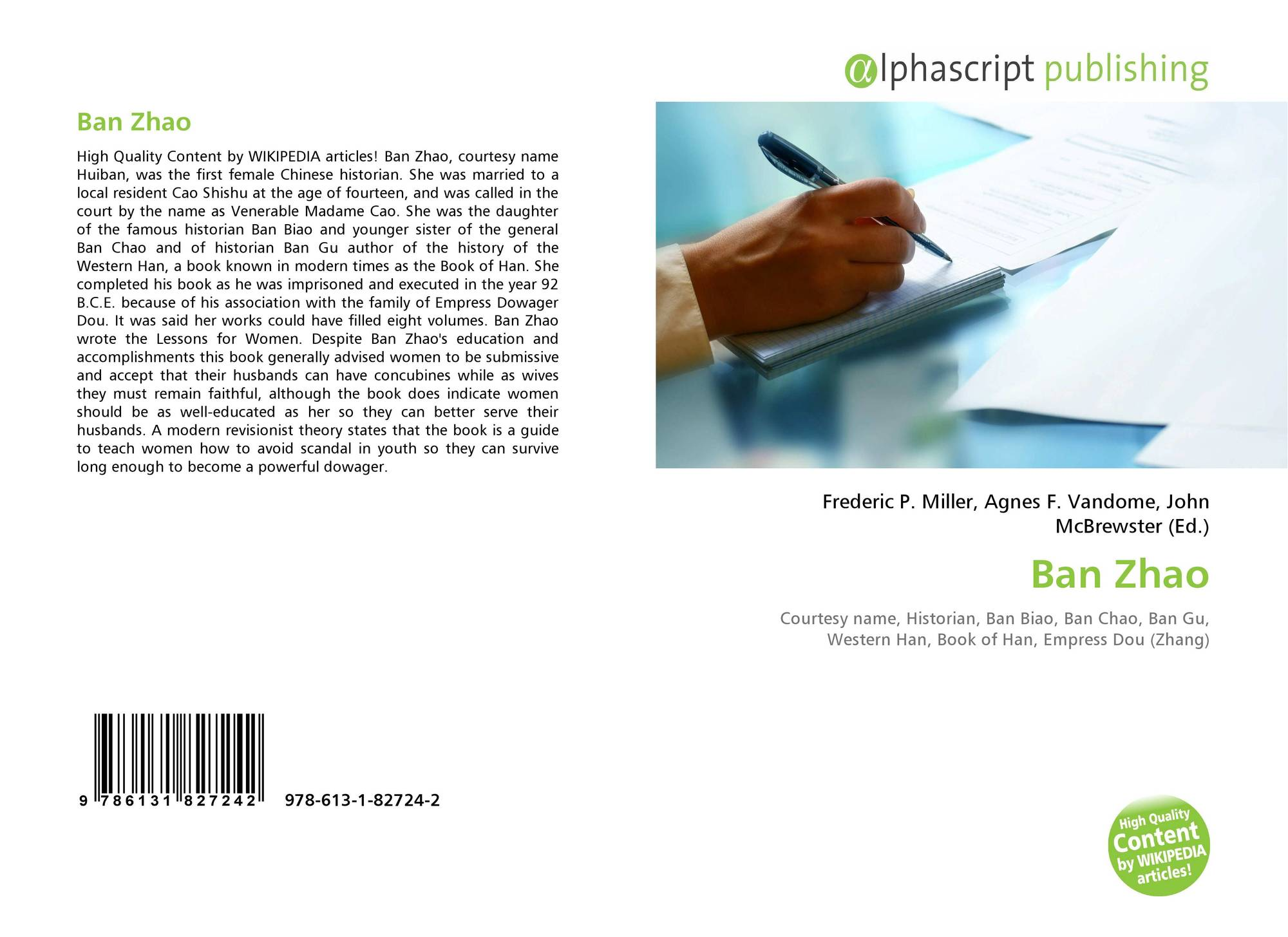 ban zhao and lessons for women essay