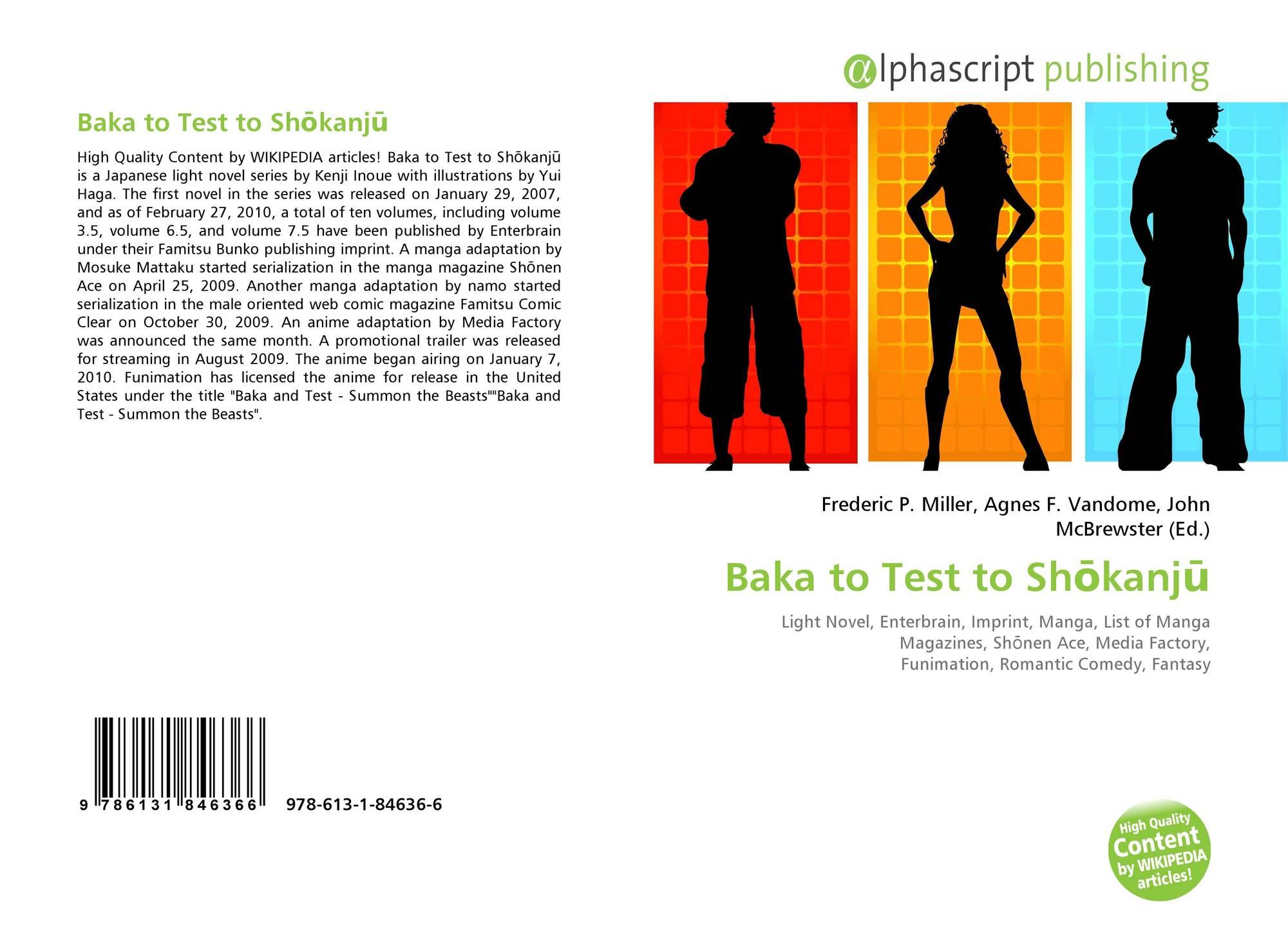 Baka to Test to Shōkanjū, 978-613-1-84636-6, 6131846367 ,9786131846366