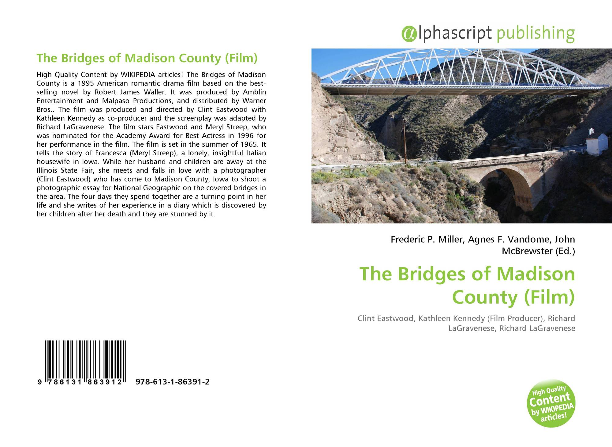 Bookcover of The Bridges of Madison County (Film)