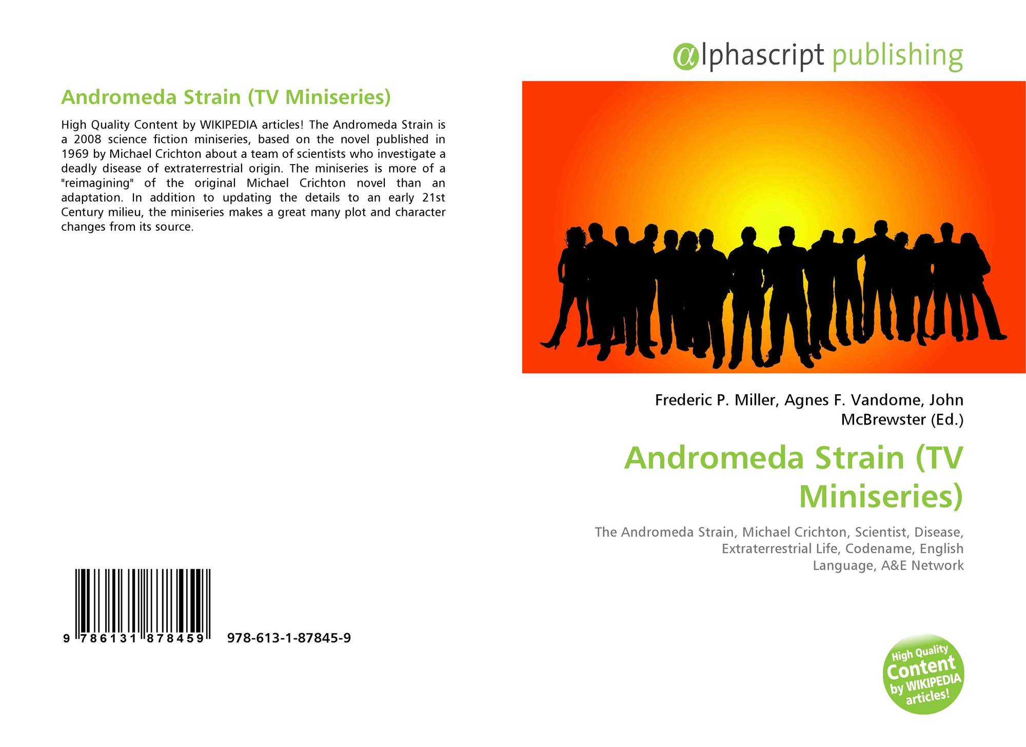 an analysis of the book andromeda strain of the disease Find all available study guides and summaries for andromeda strain by michael crichton if there is a sparknotes, shmoop, or cliff notes guide, we.