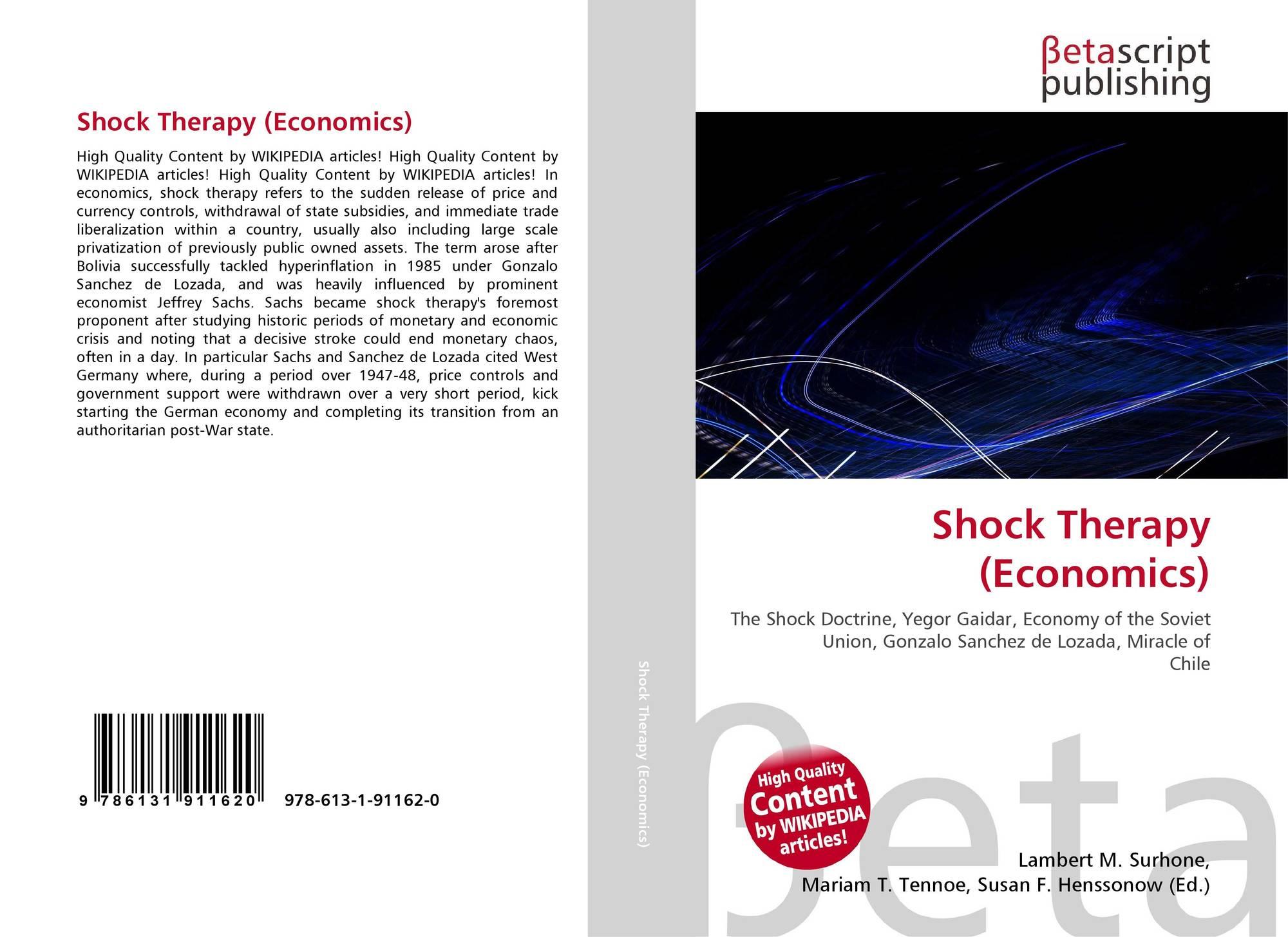 chilean economic shock therapy essay